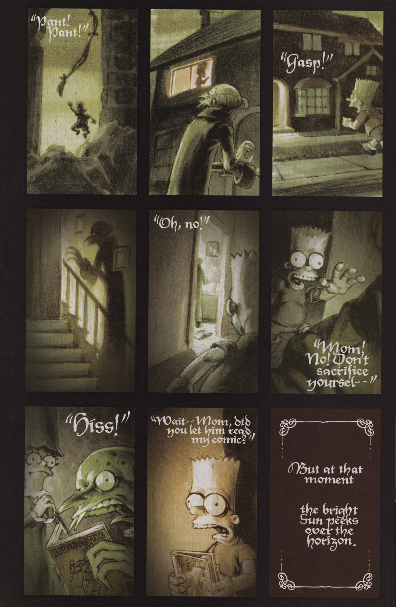 Read online Treehouse of Horror comic -  Issue #17 - 15