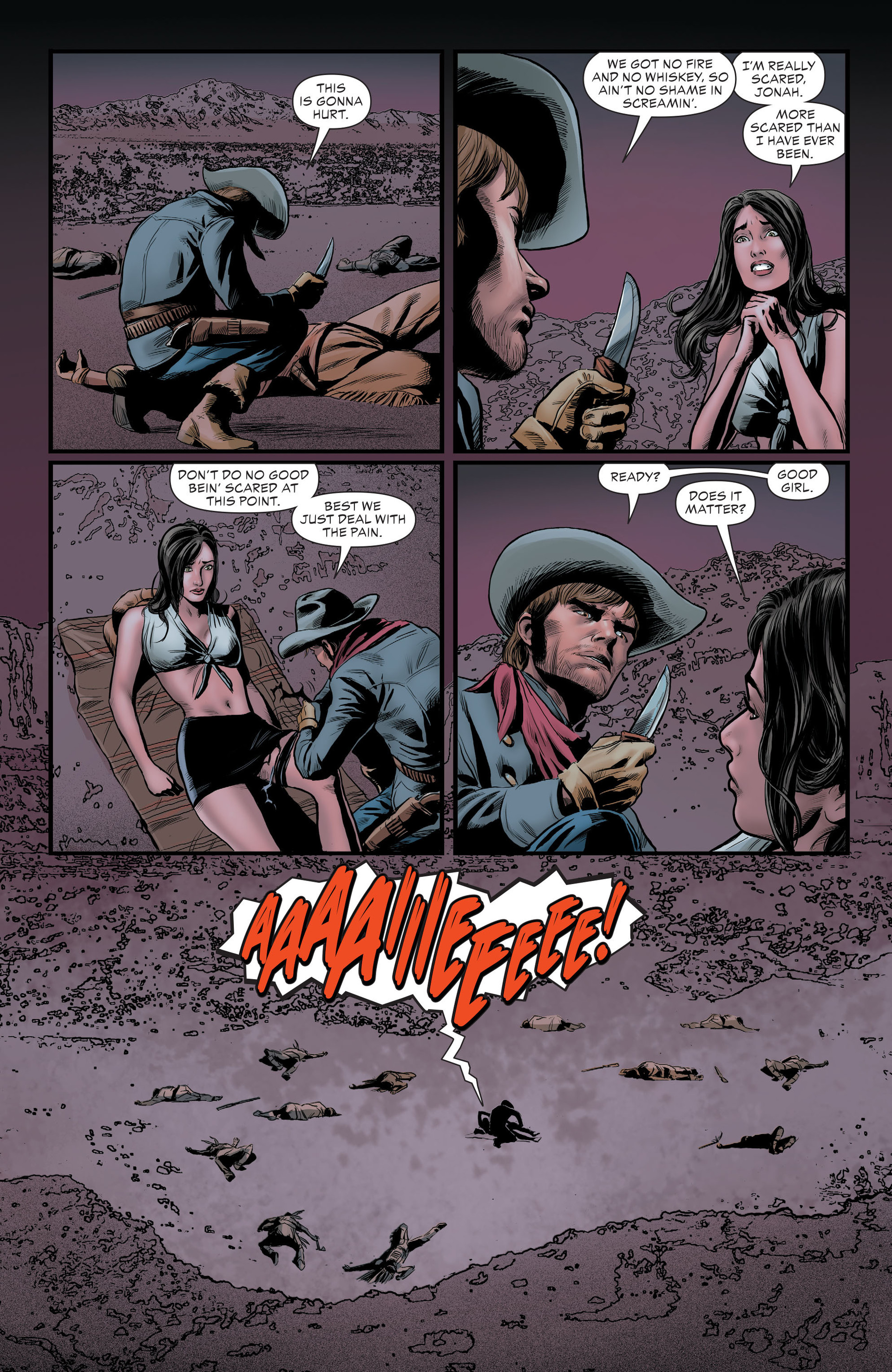 Read online All-Star Western (2011) comic -  Issue #29 - 5
