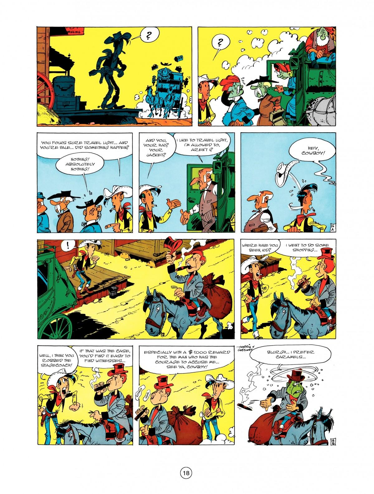 Read online A Lucky Luke Adventure comic -  Issue #1 - 20