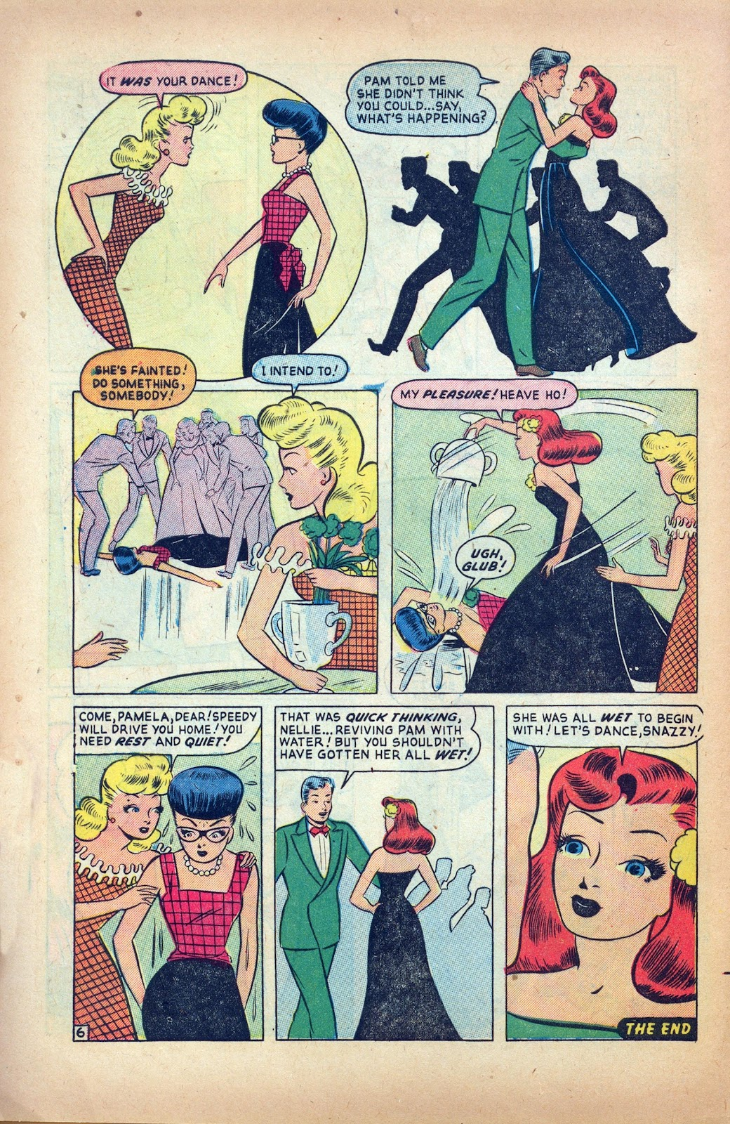 Read online Nellie The Nurse (1945) comic -  Issue #24 - 8