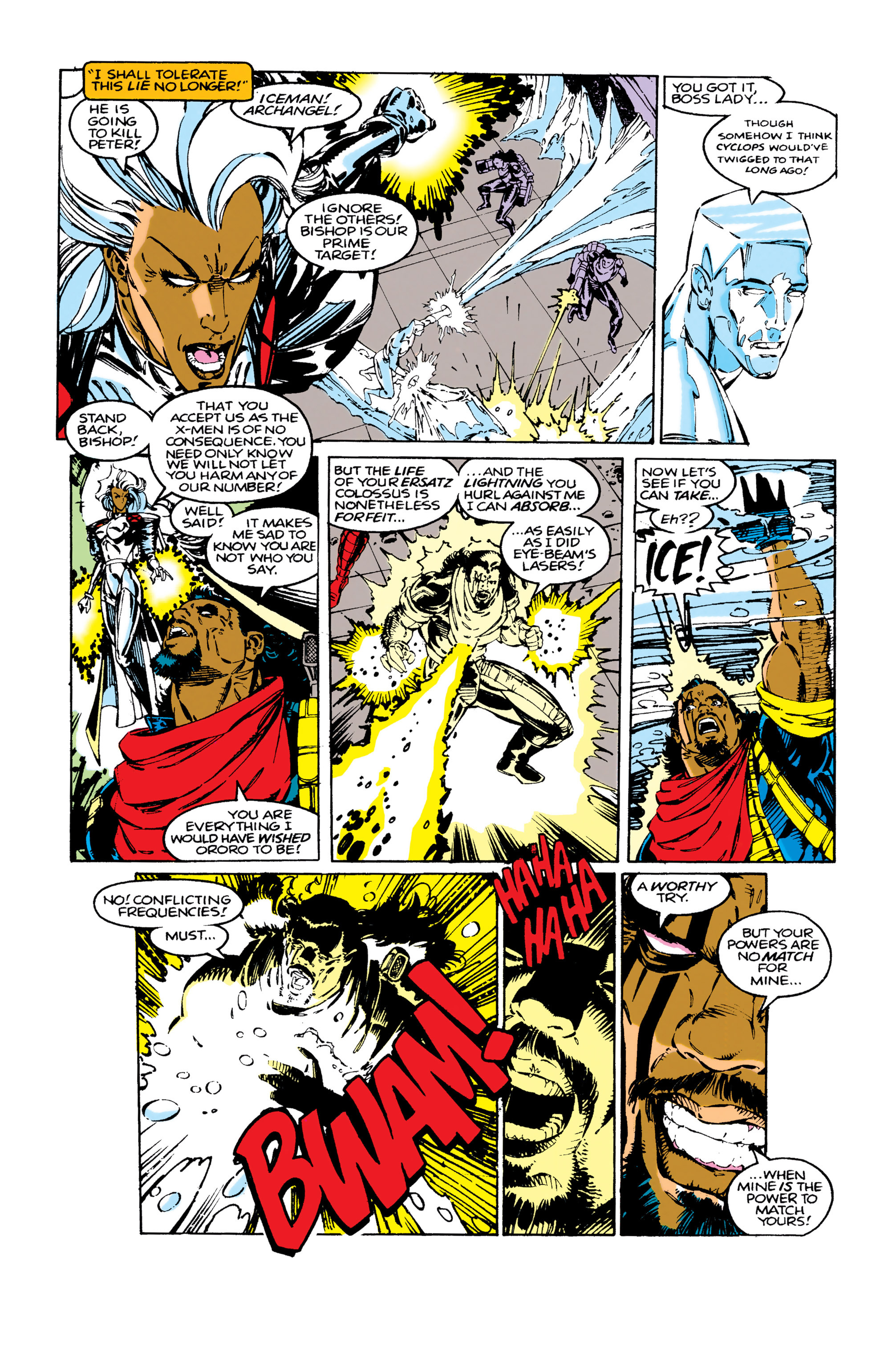 Read online Uncanny X-Men (1963) comic -  Issue #283 - 11