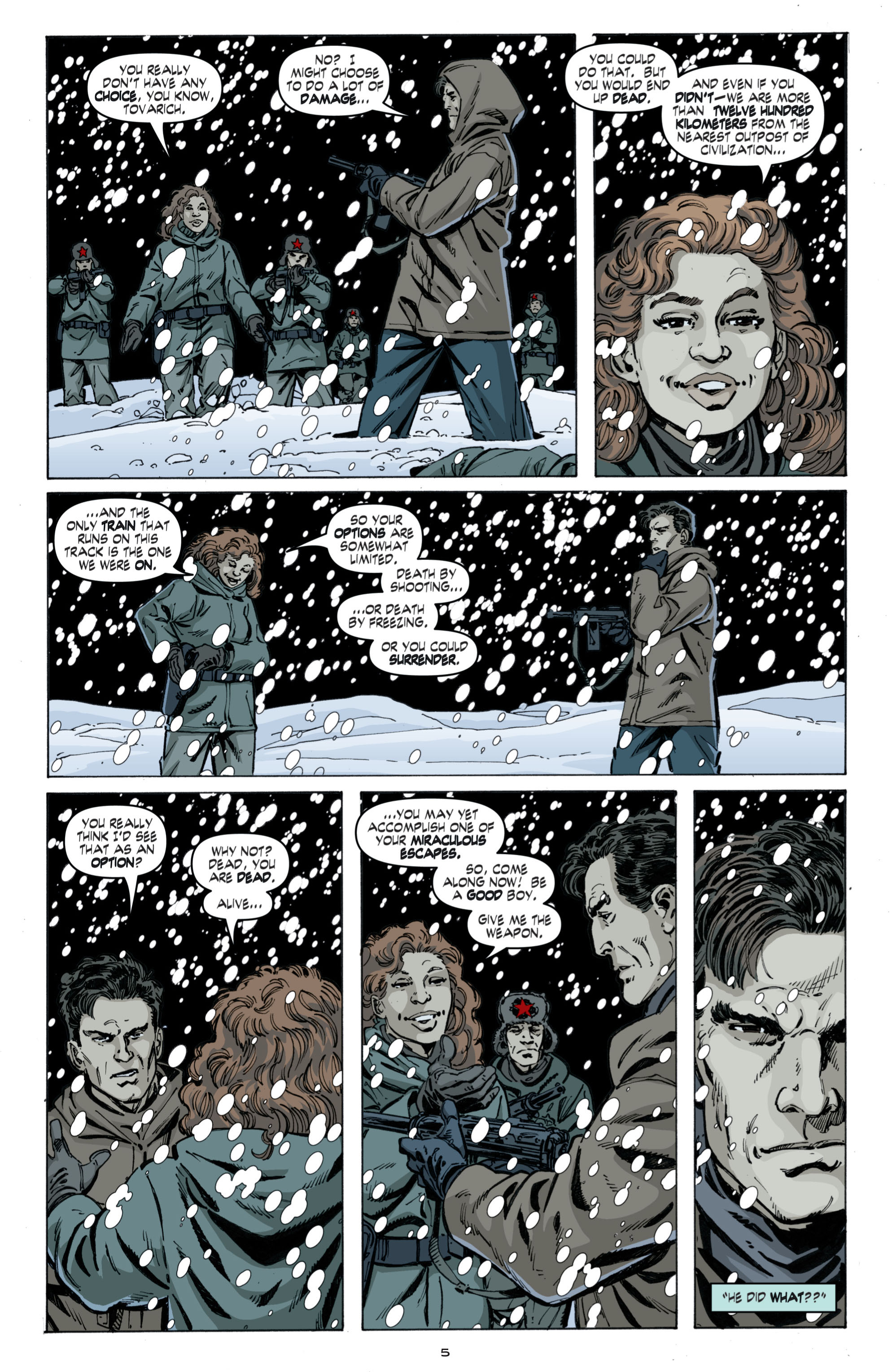 Read online Cold War comic -  Issue # TPB - 89