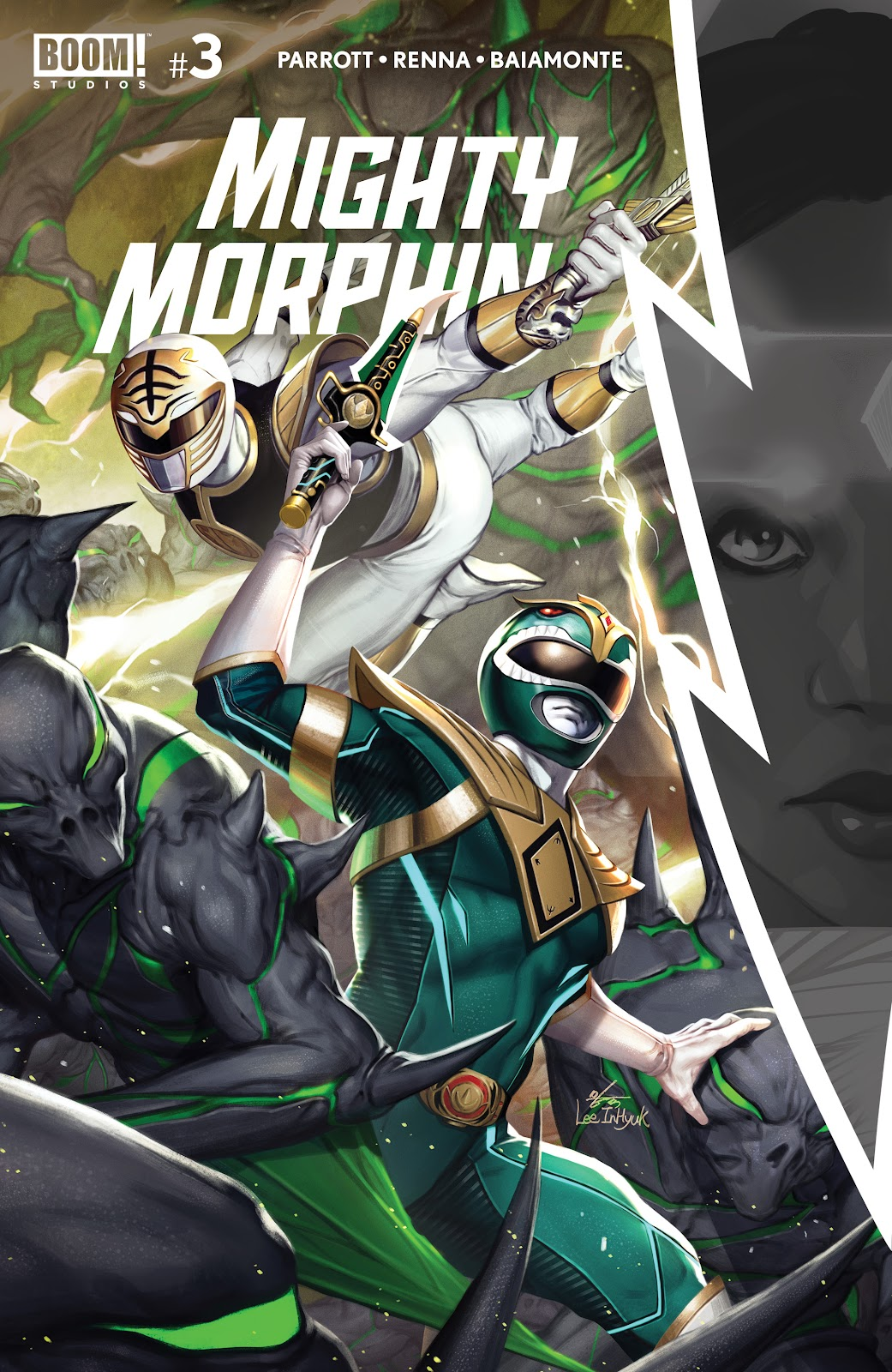 Mighty Morphin issue 3 - Page 1