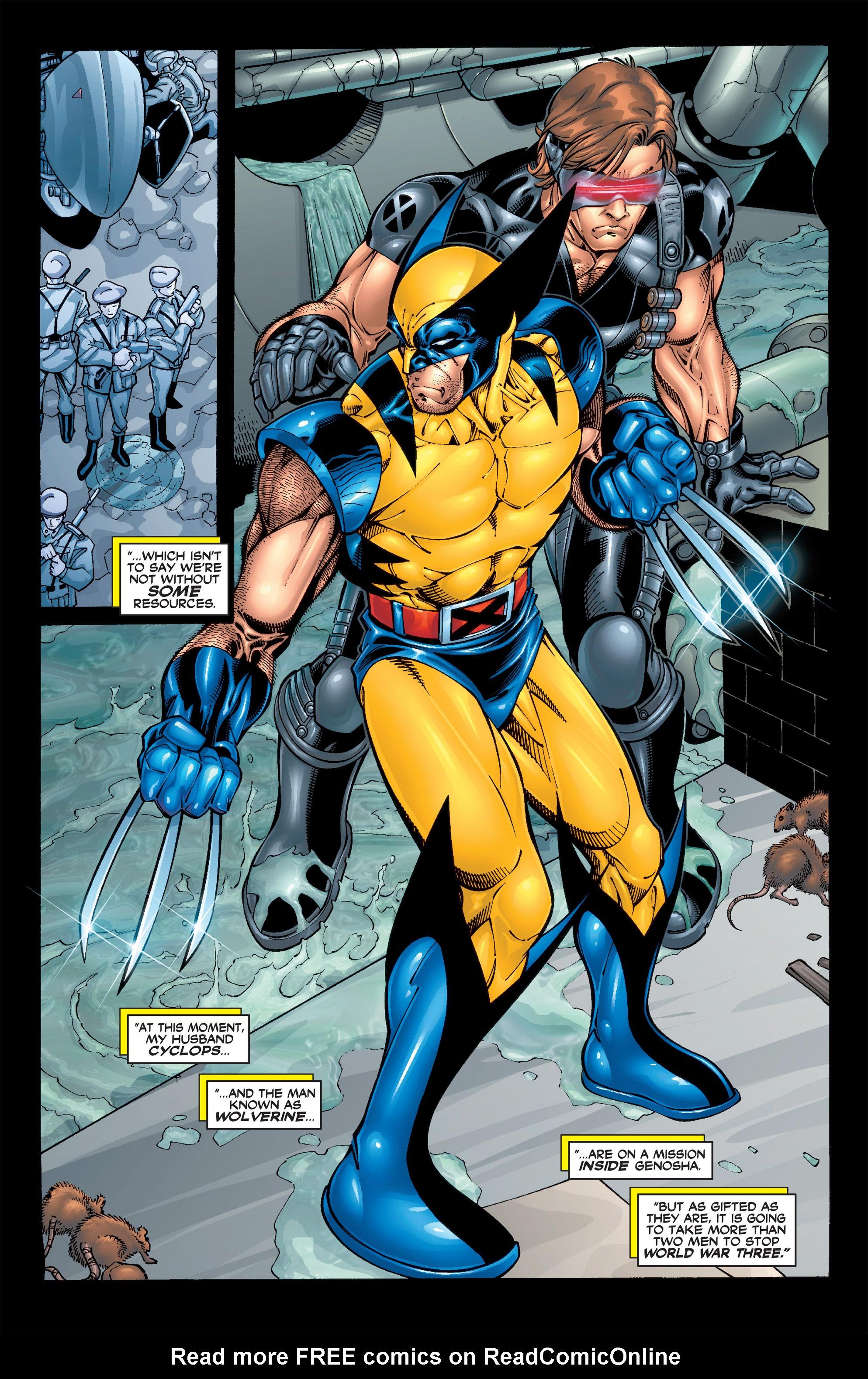 Read online Uncanny X-Men (1963) comic -  Issue #392 - 20