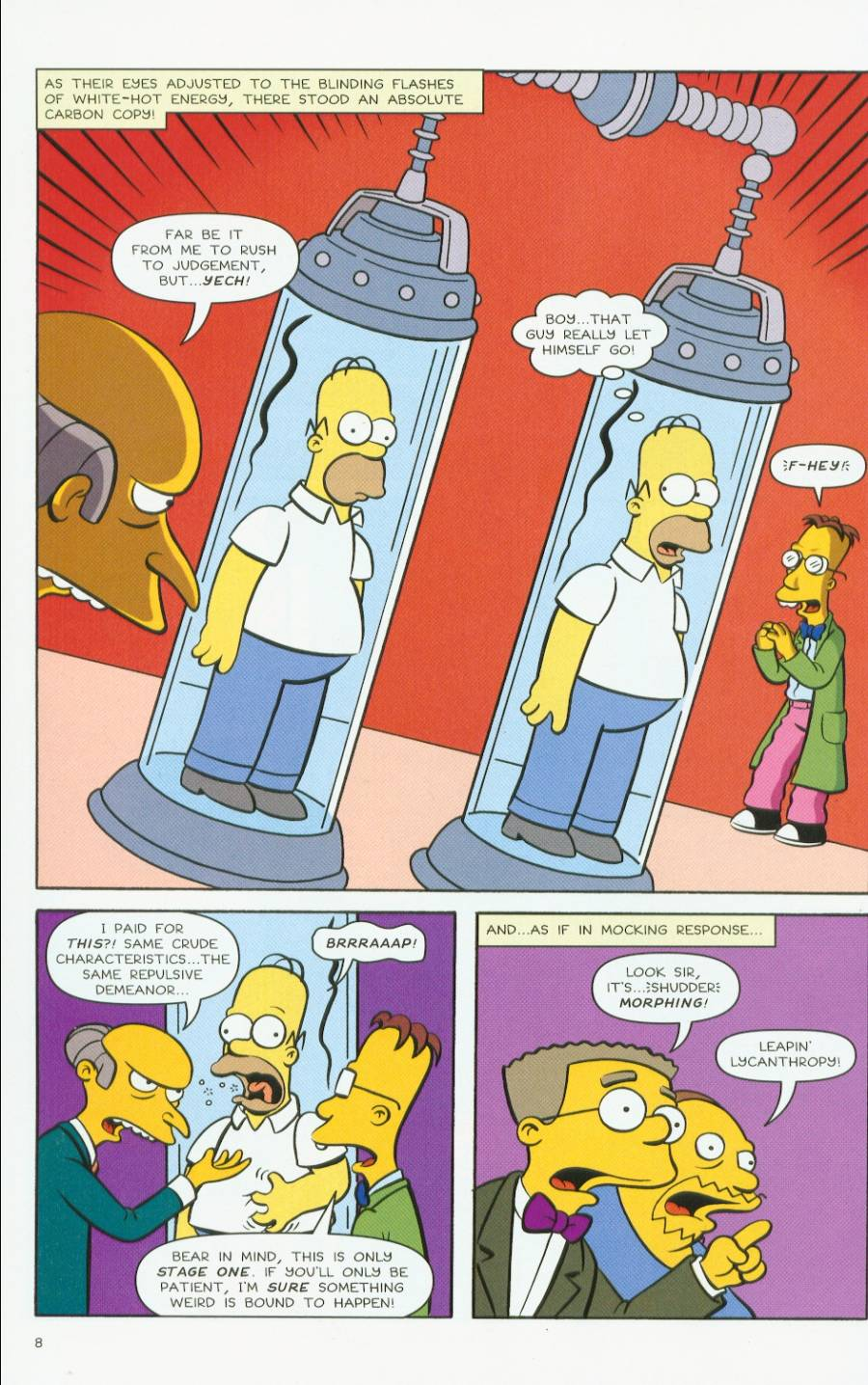Read online Treehouse of Horror comic -  Issue #7 - 51