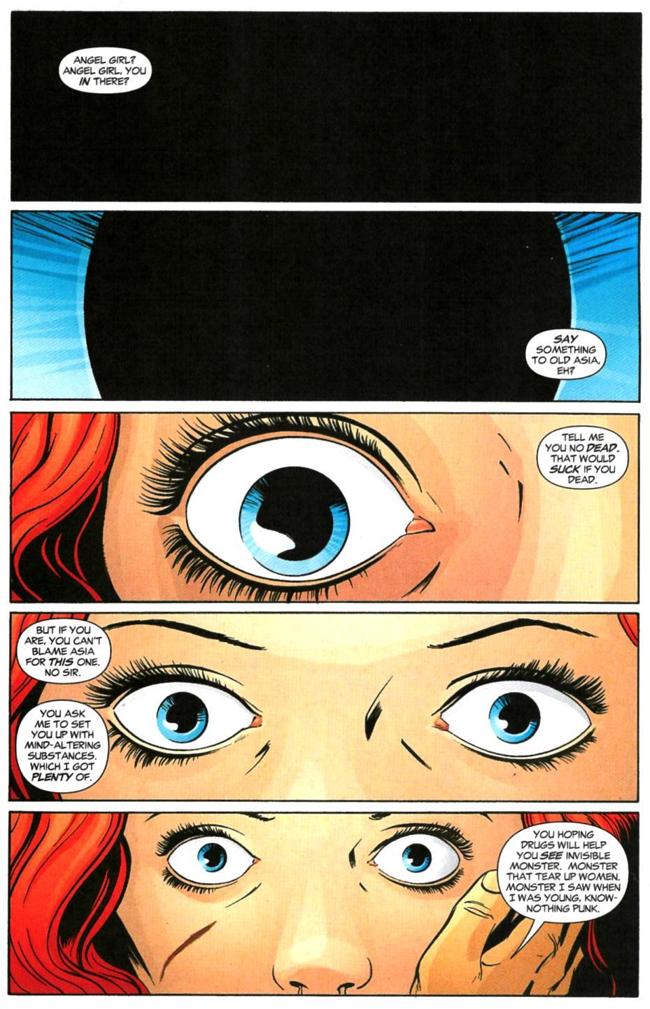 Read online Fallen Angel (2003) comic -  Issue #6 - 2