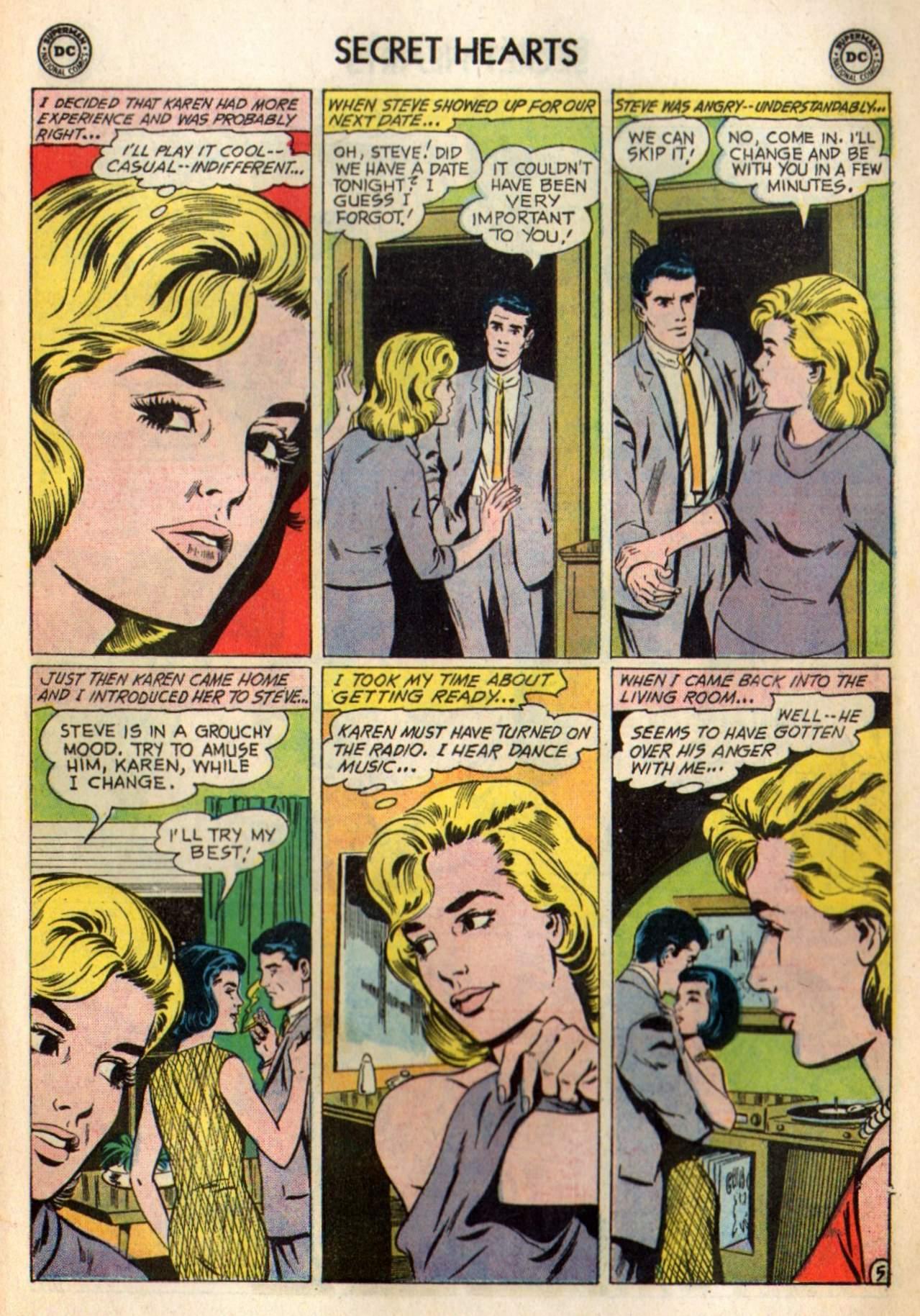 Read online Secret Hearts comic -  Issue #98 - 7