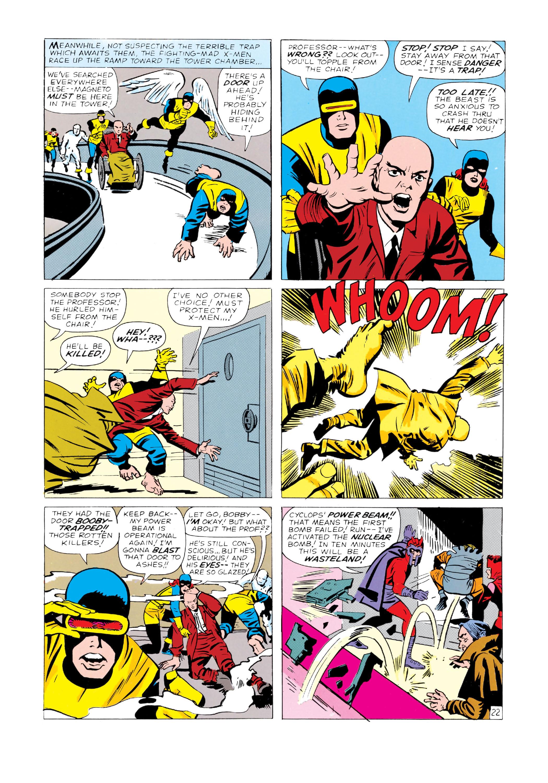 Read online Uncanny X-Men (1963) comic -  Issue #4 - 23