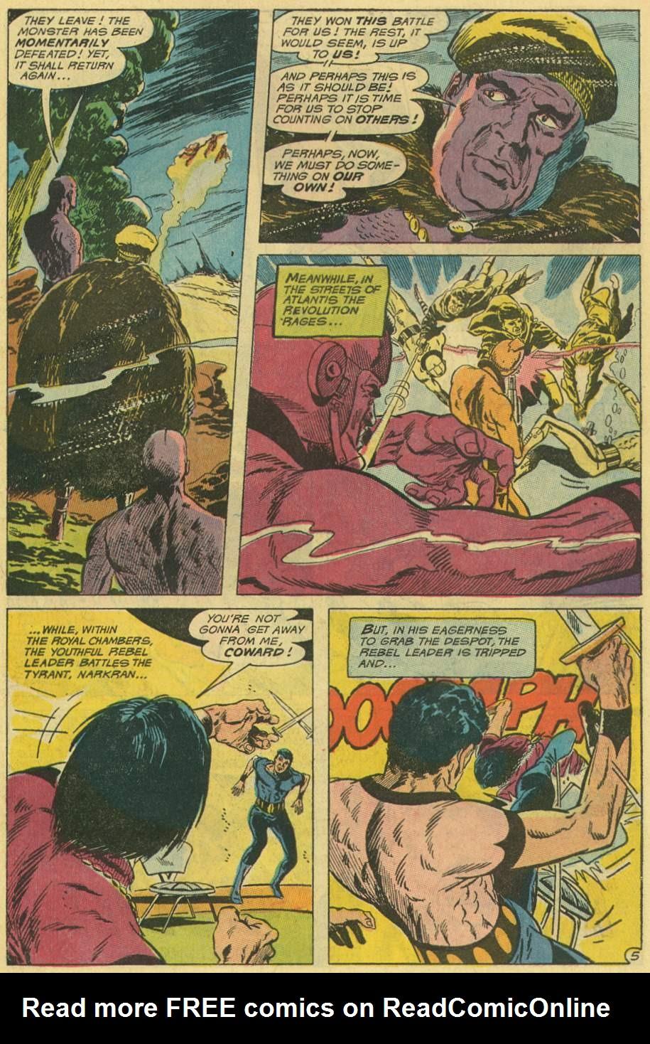 Read online Aquaman (1962) comic -  Issue #48 - 7