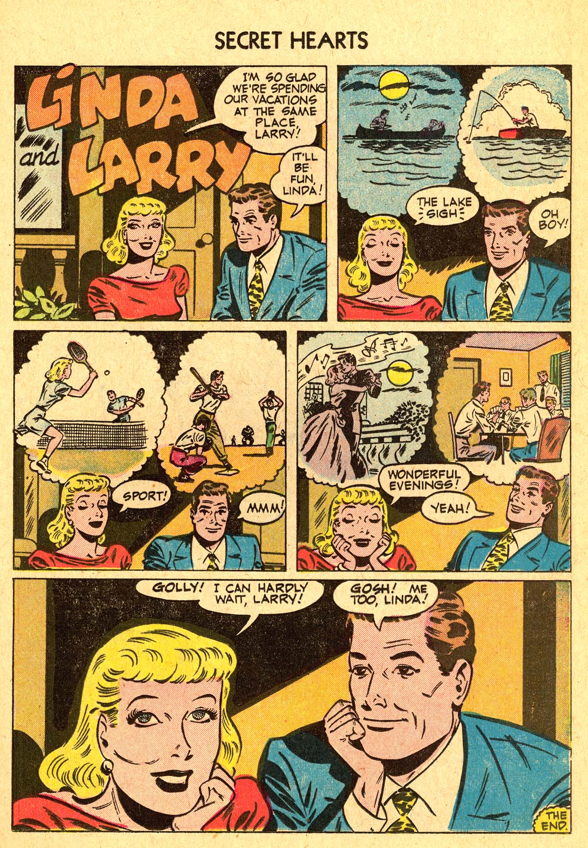 Read online Secret Hearts comic -  Issue #40 - 17