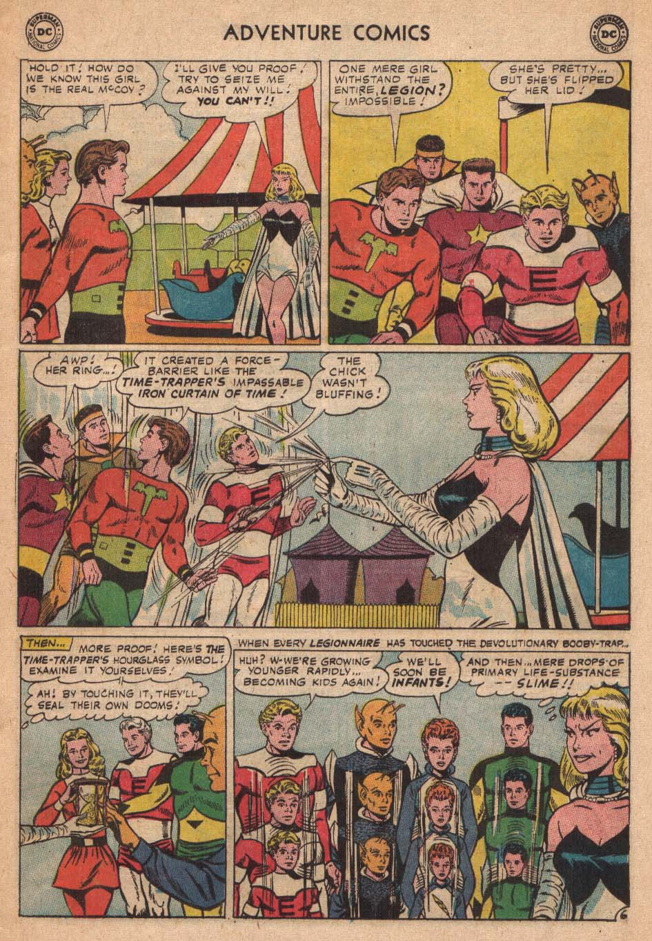 Read online Adventure Comics (1938) comic -  Issue #338 - 9