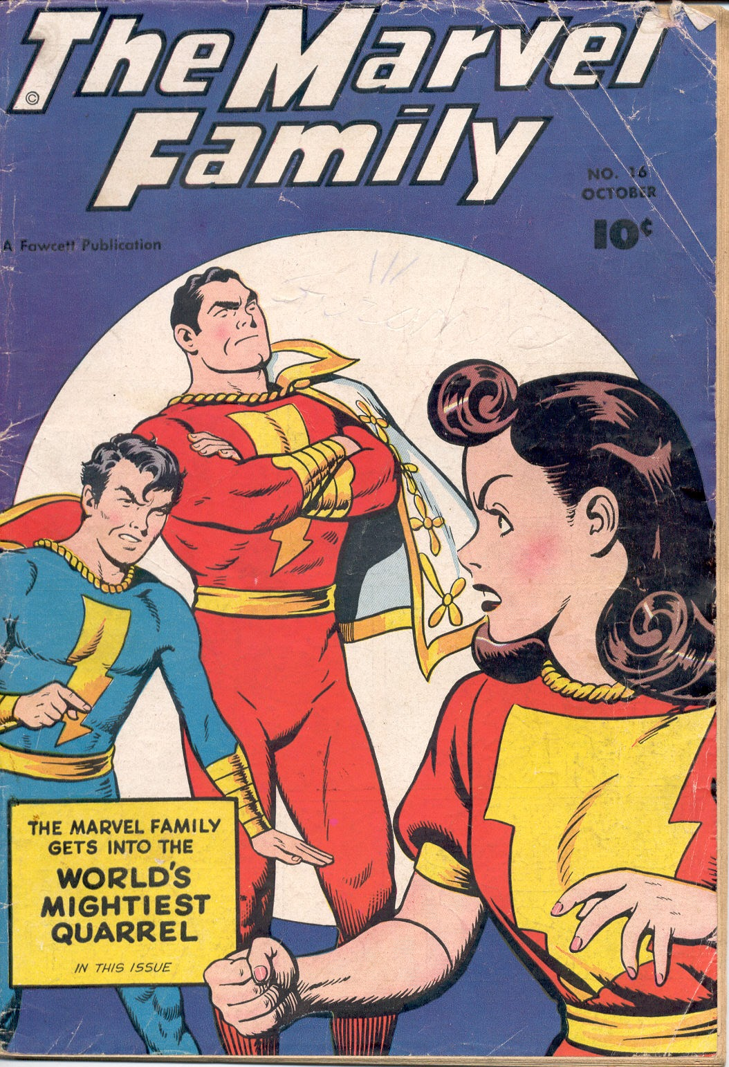 The Marvel Family 16 Page 1