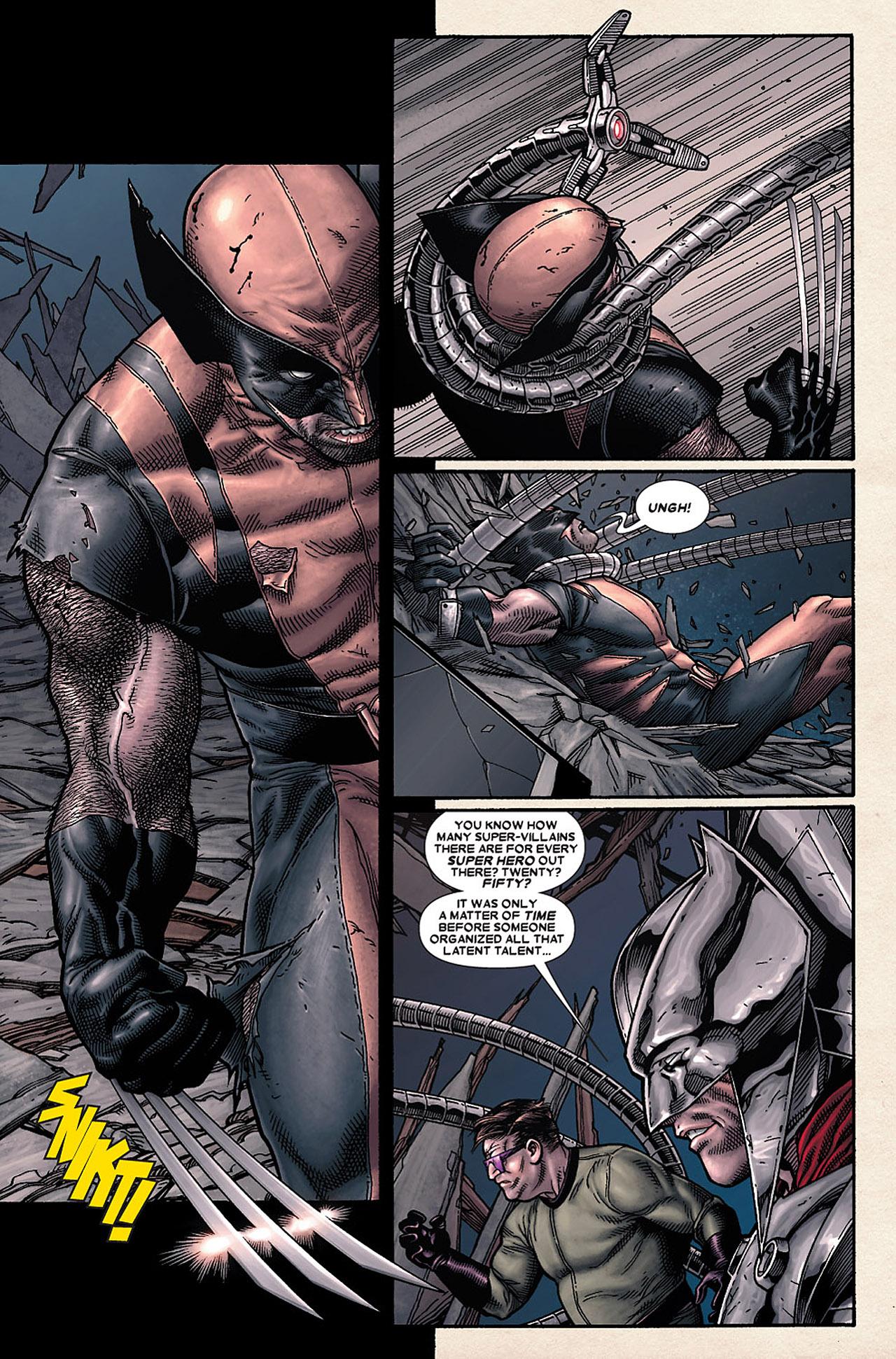Read online Wolverine: Old Man Logan comic -  Issue # Full - 97