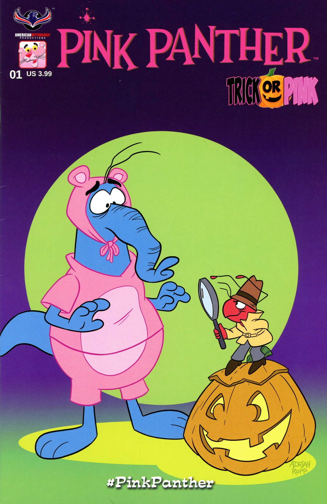 Pink Panther: Trick or Pink Full Page 1