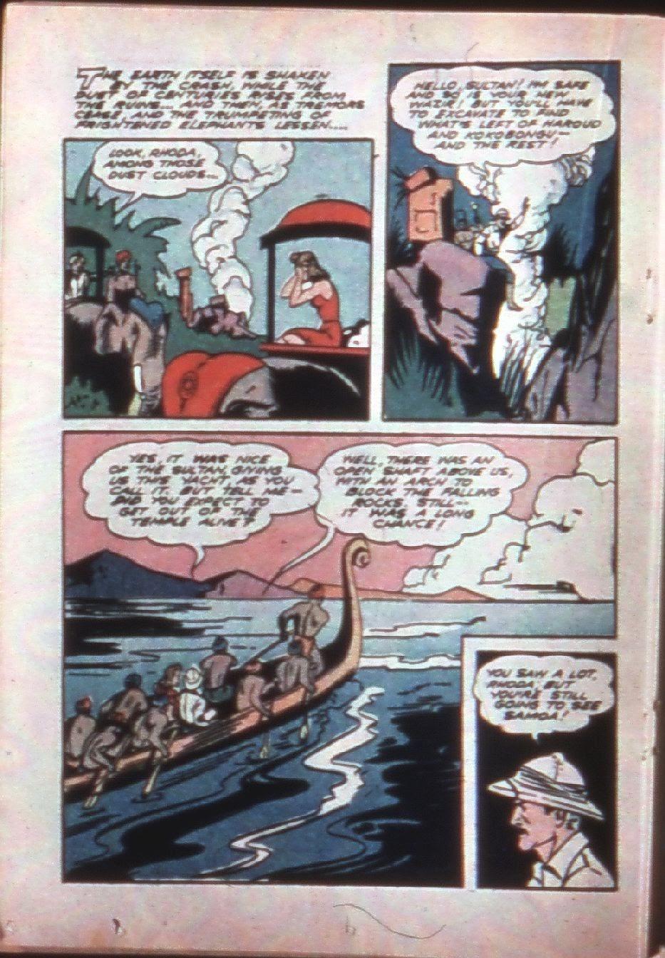 Read online Super-Magician Comics comic -  Issue #7 - 35