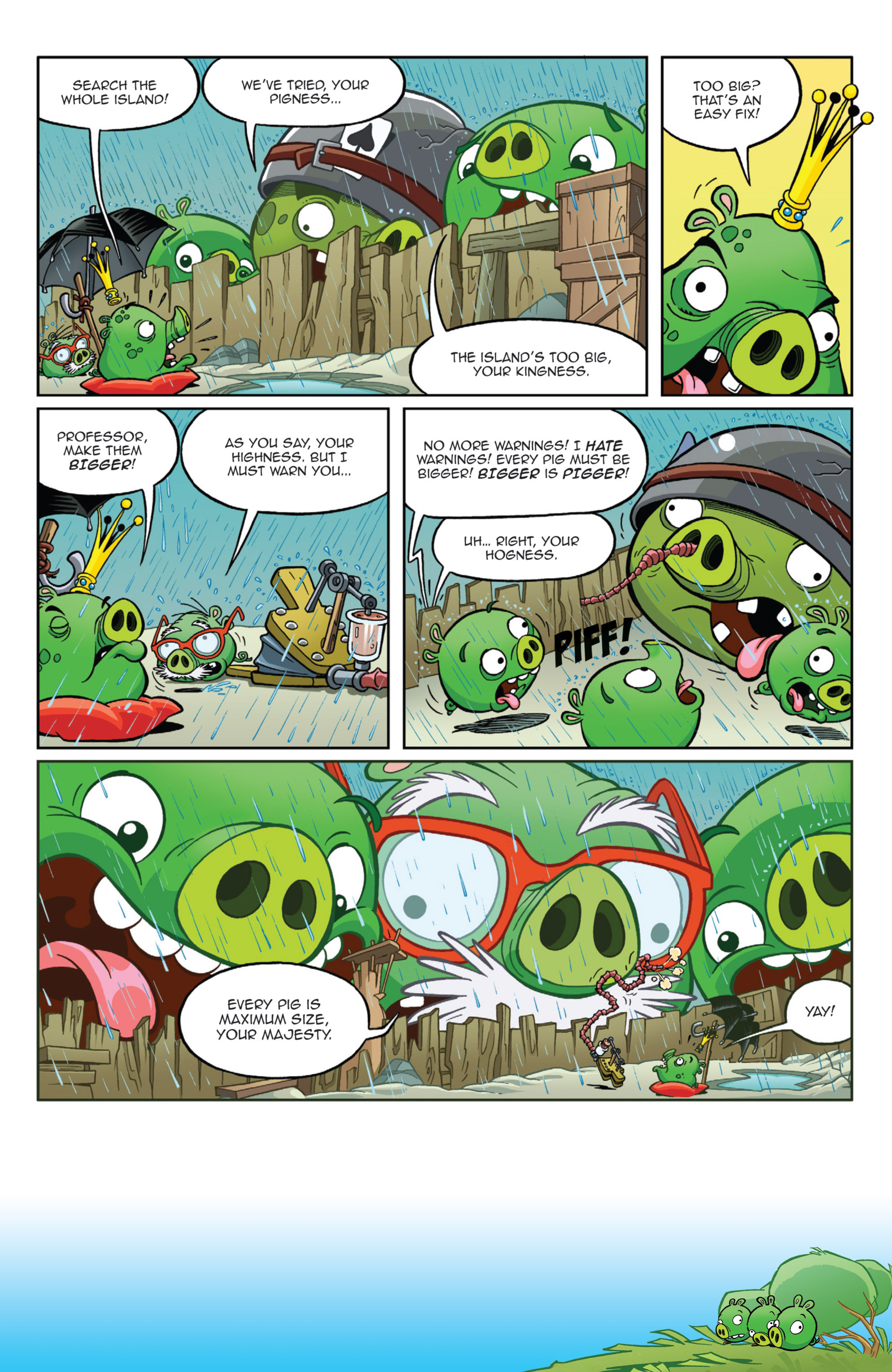Read online Angry Birds Comics (2014) comic -  Issue #9 - 11