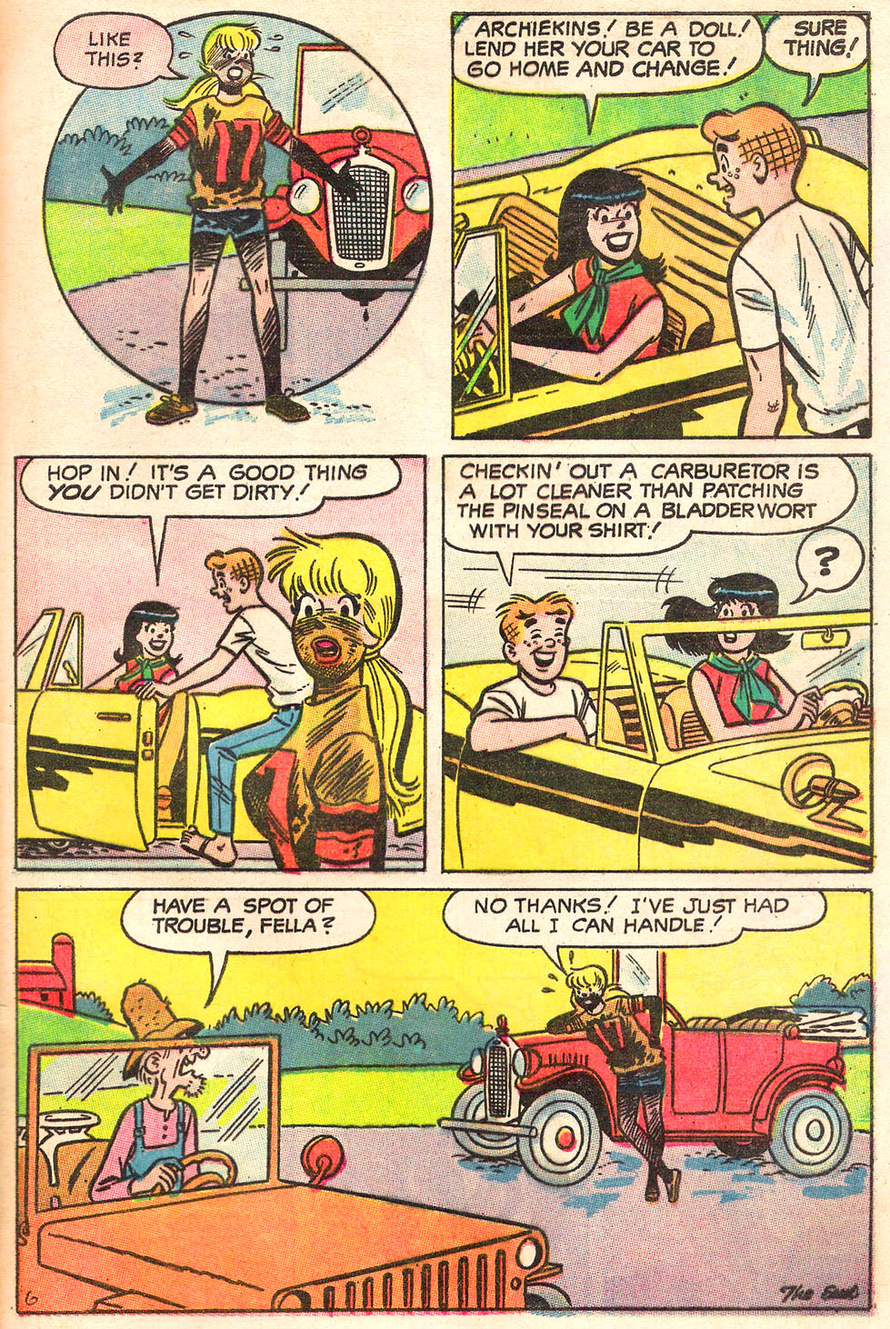 Read online Archie's Girls Betty and Veronica comic -  Issue #155 - 32