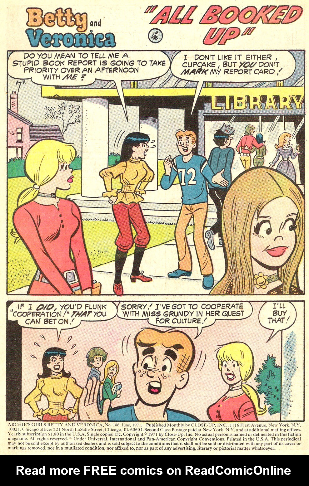 Read online Archie's Girls Betty and Veronica comic -  Issue #186 - 3