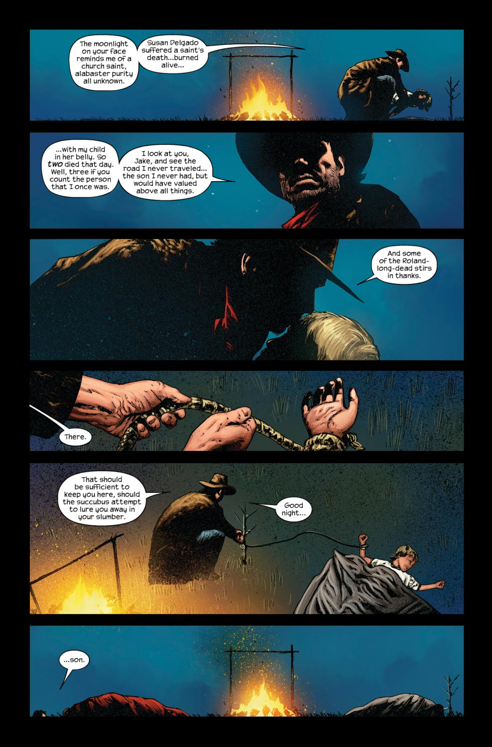 Read online Dark Tower: The Gunslinger - The Way Station comic -  Issue #5 - 7