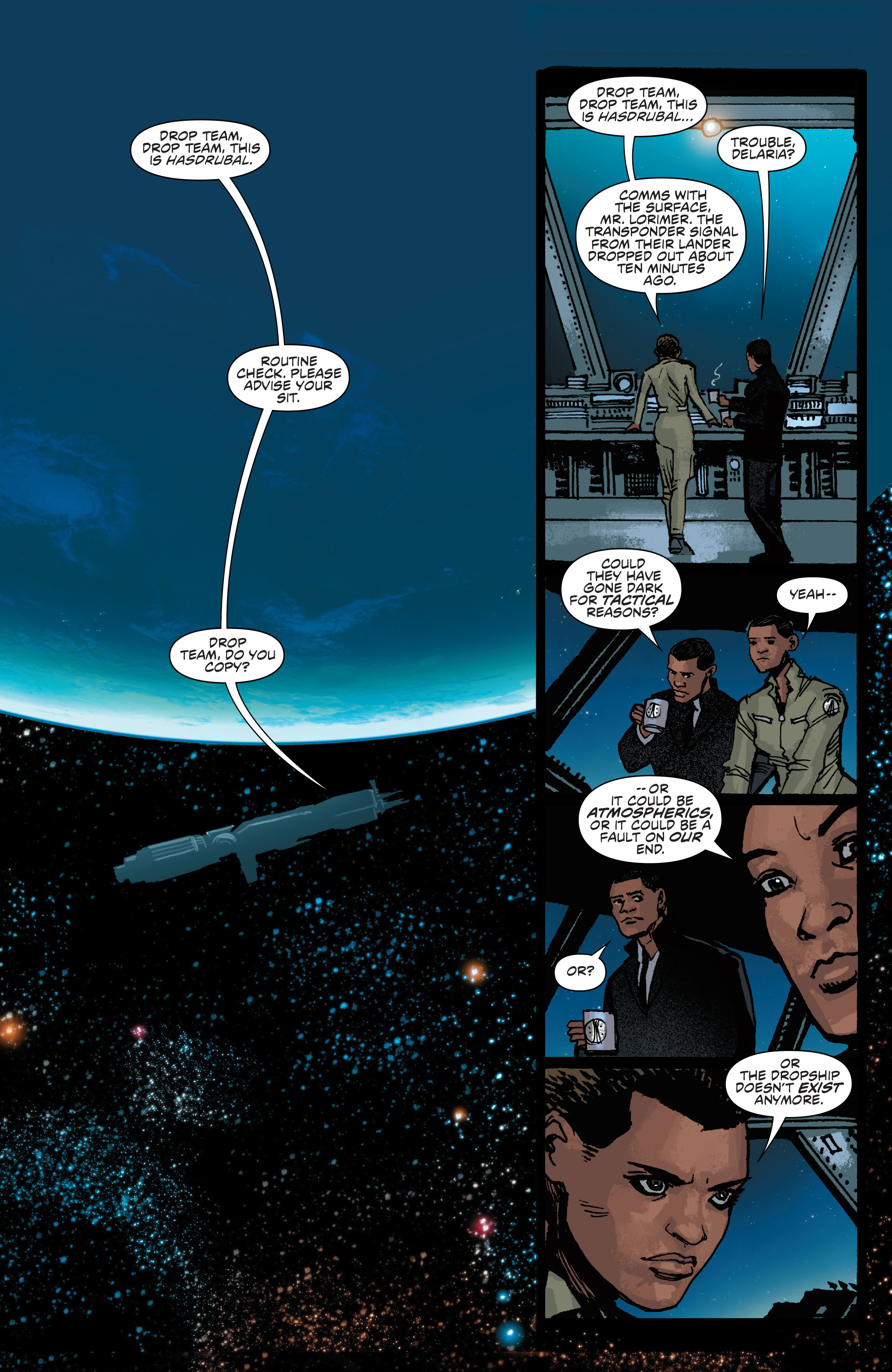 Read online Aliens: Life And Death comic -  Issue #4 - 3