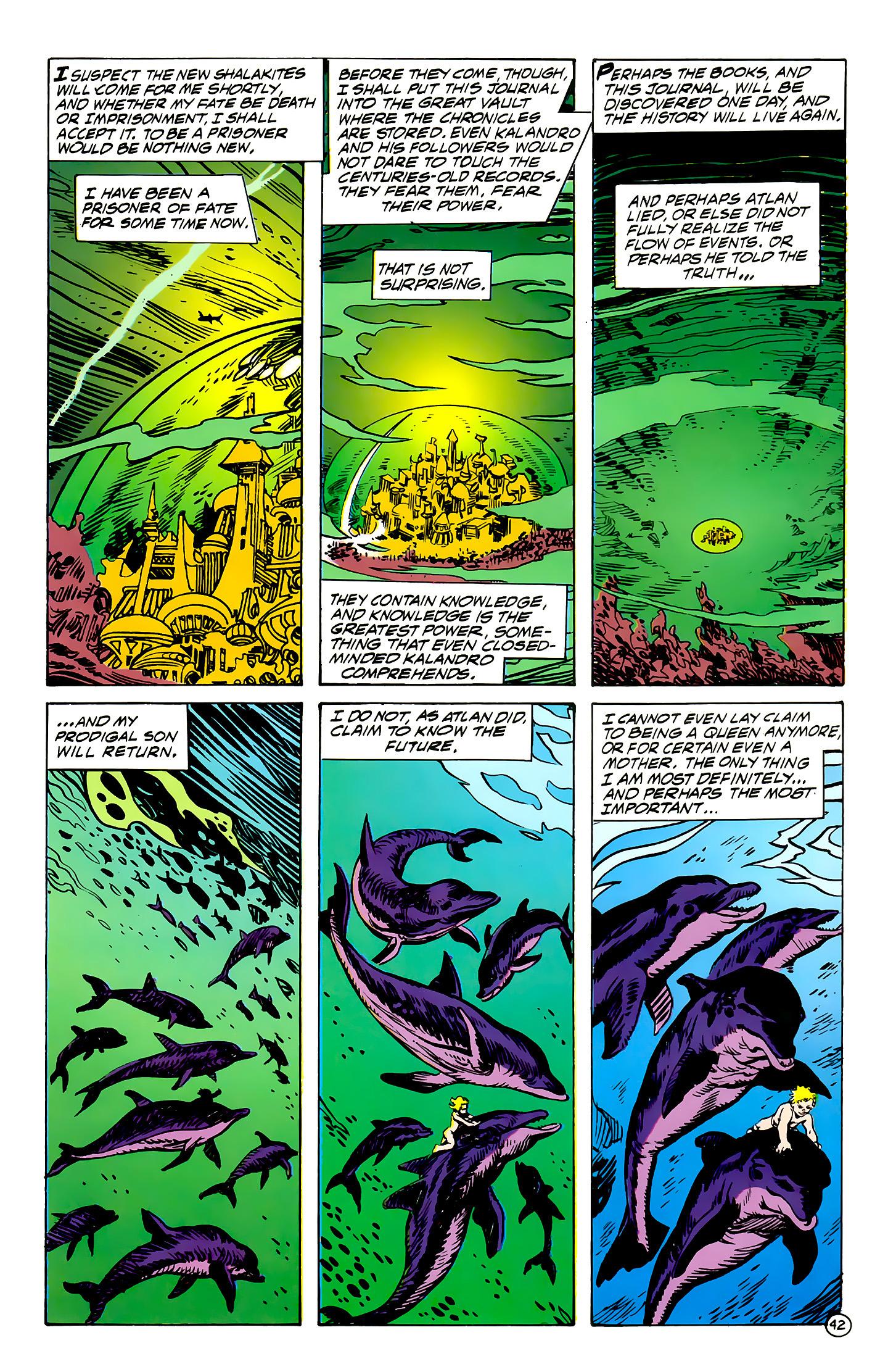 Read online Atlantis Chronicles comic -  Issue #7 - 43