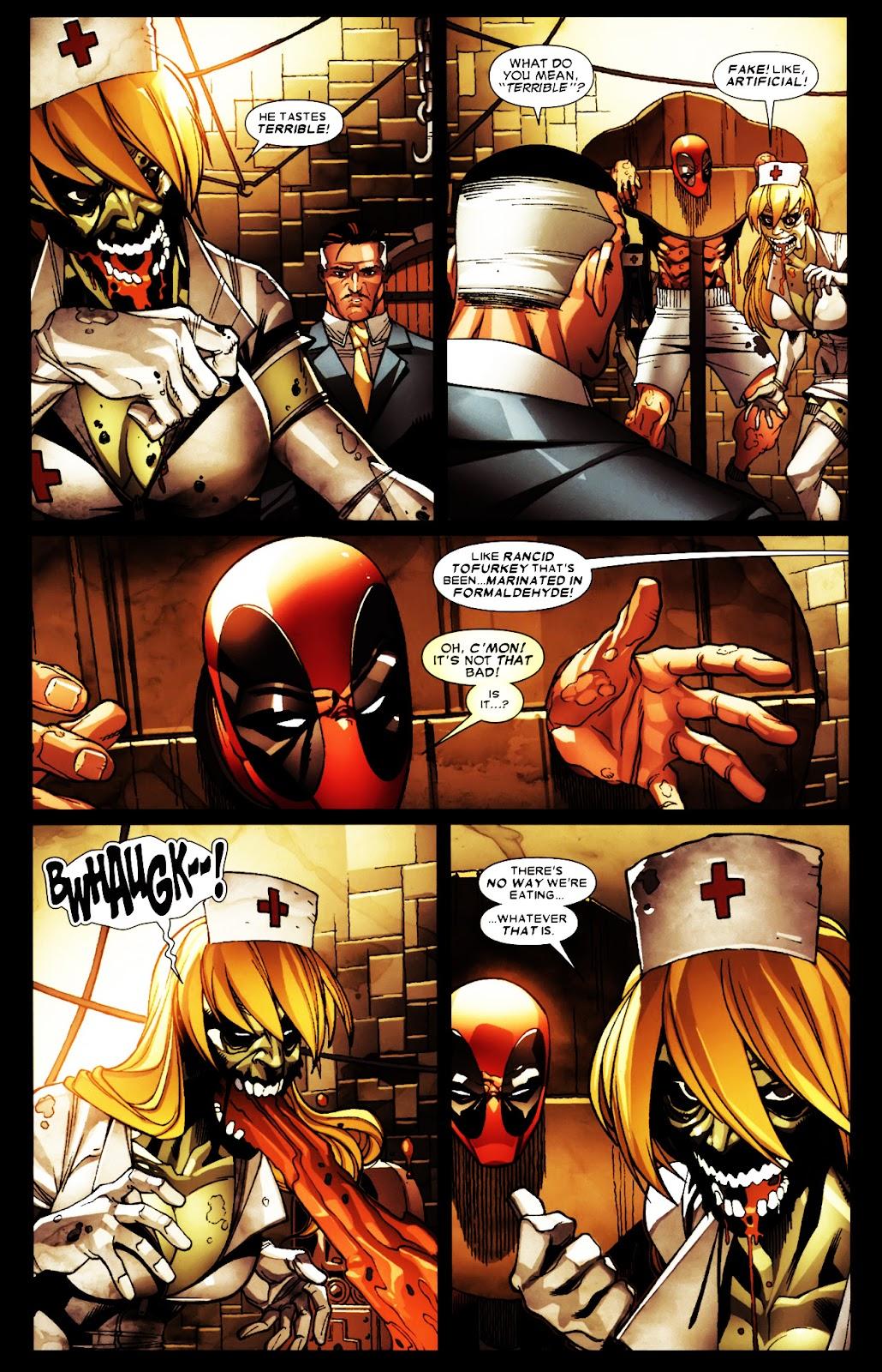 Read online Deadpool (2008) comic -  Issue #5 - 14
