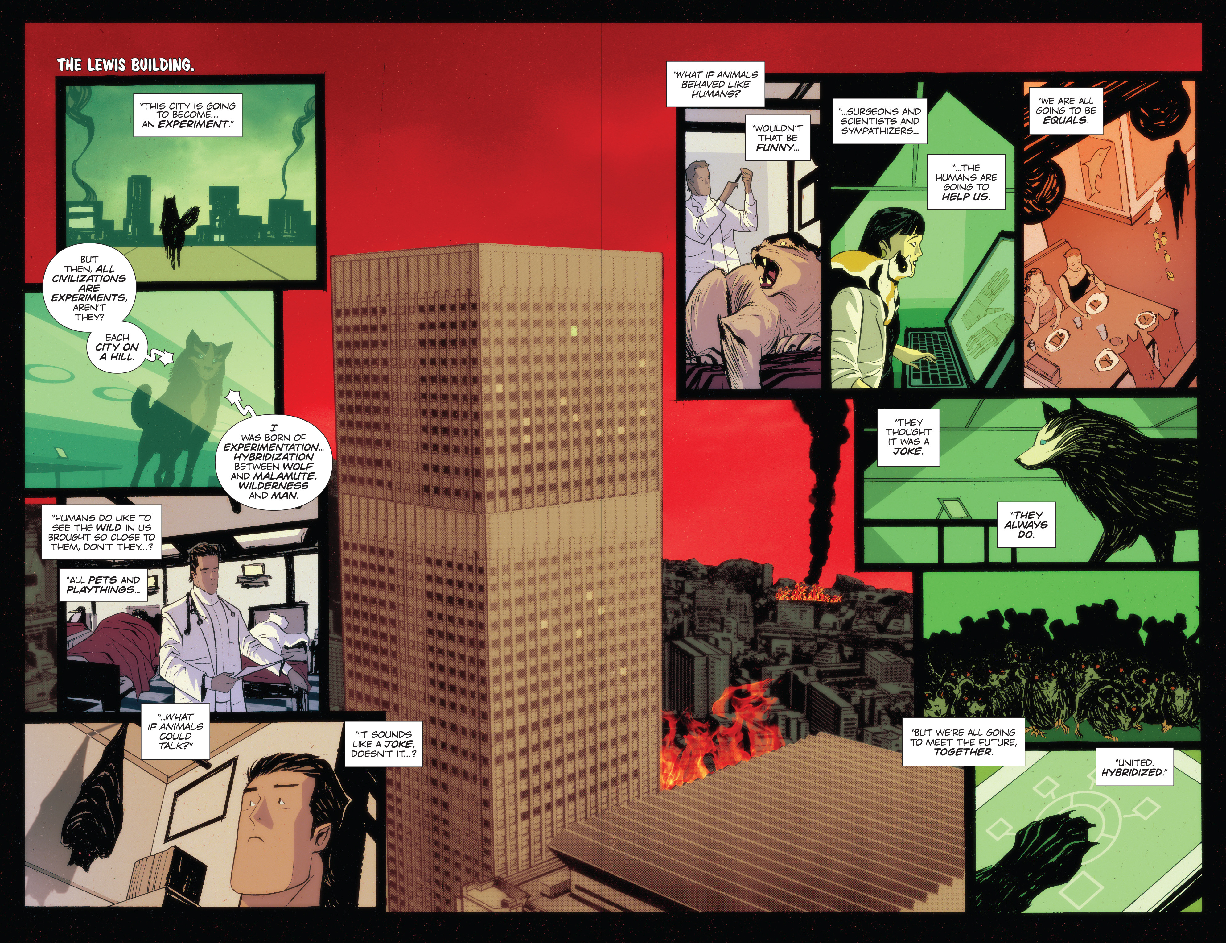 Read online Animosity: The Rise comic -  Issue #Animosity: The Rise Full - 19