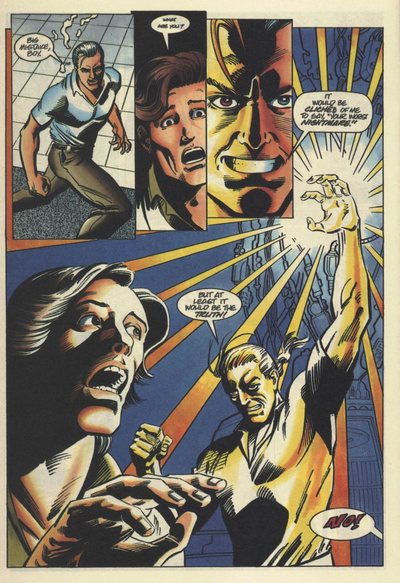 Read online Solar, Man of the Atom comic -  Issue #40 - 16
