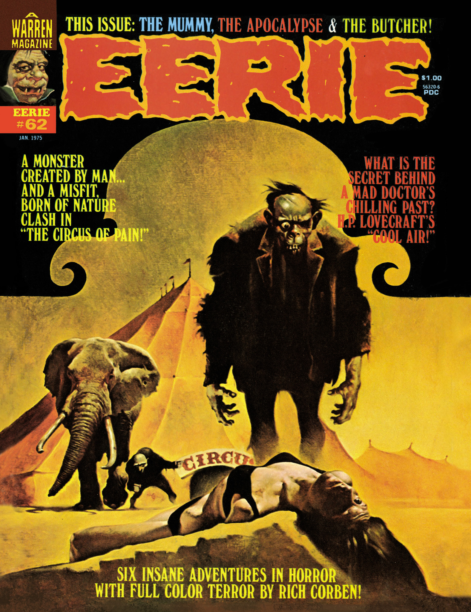 Read online Eerie Archives comic -  Issue # TPB 13 - 72