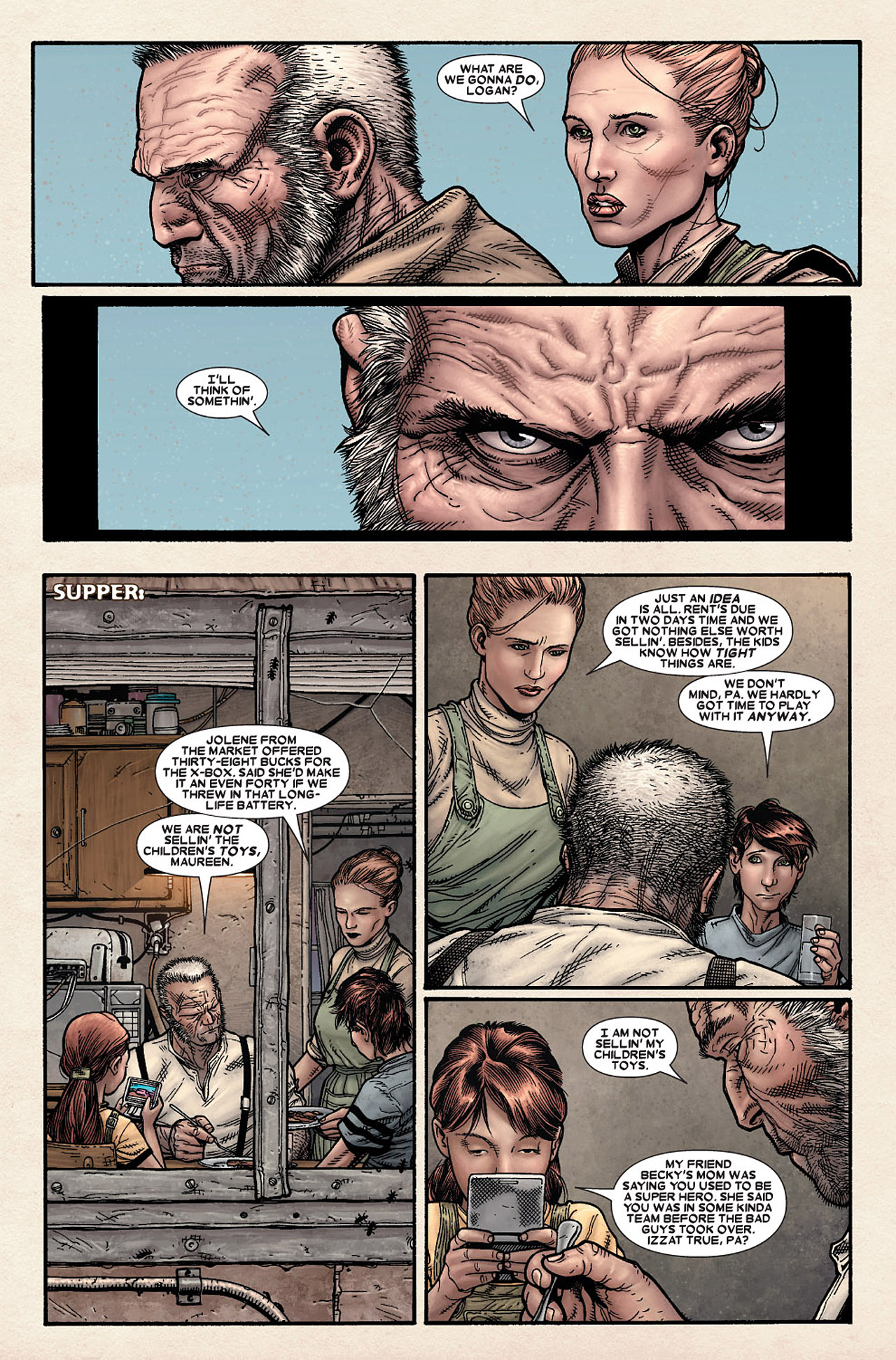 Read online Wolverine: Old Man Logan comic -  Issue # Full - 8