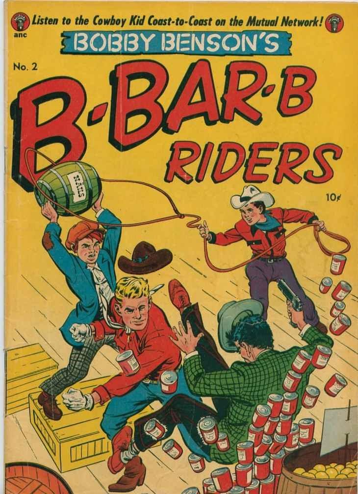 Bobby Benson's B-Bar-B Riders issue 2 - Page 1