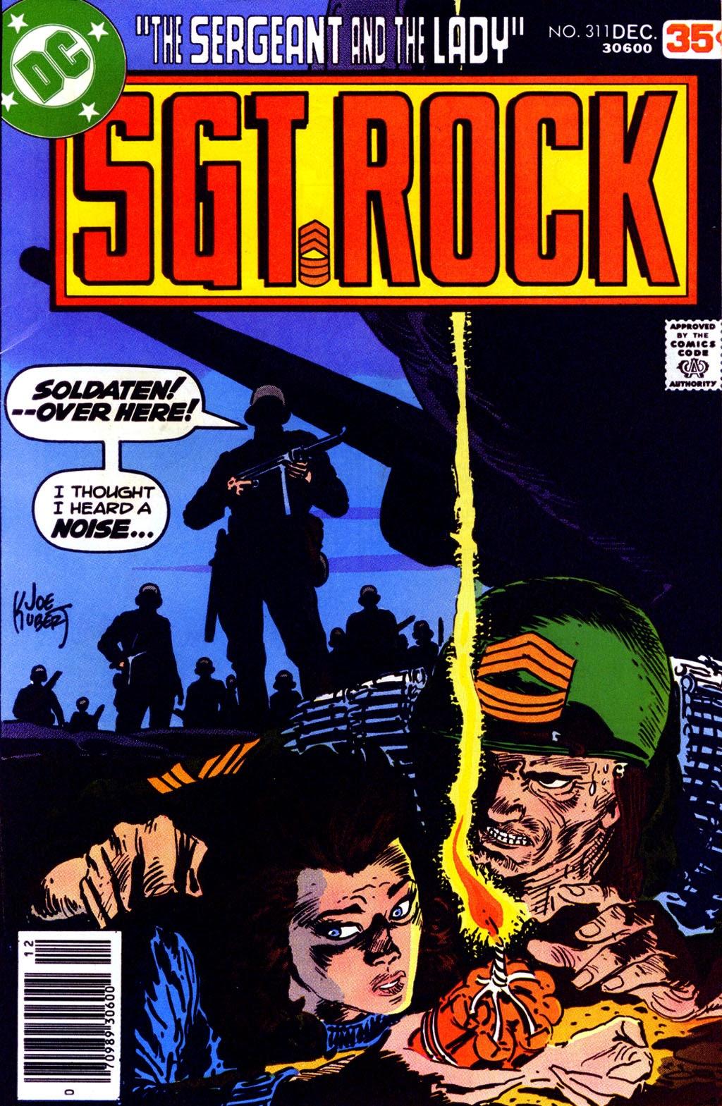 Read online Sgt. Rock comic -  Issue #311 - 1