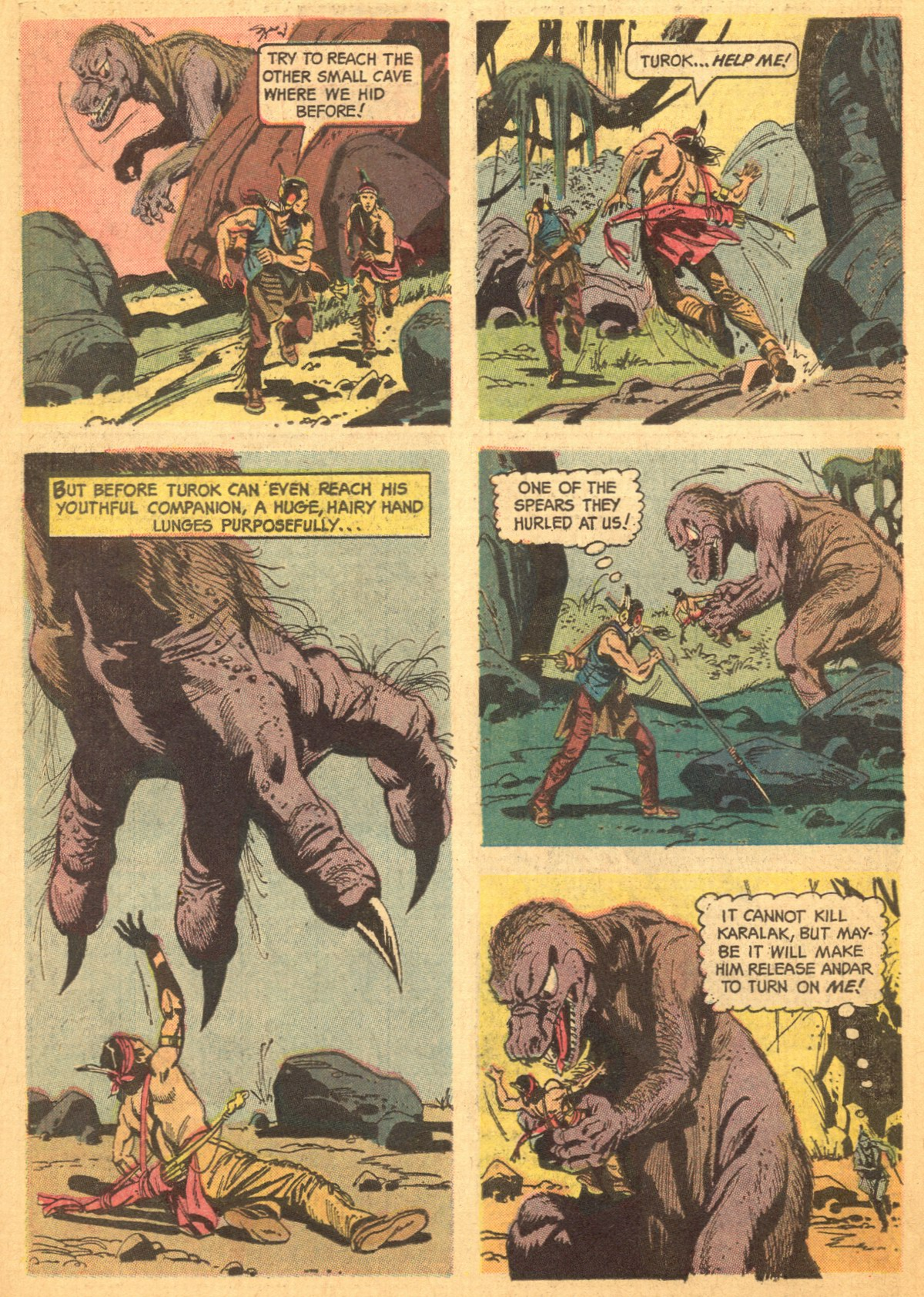 Read online Turok, Son of Stone comic -  Issue #46 - 30