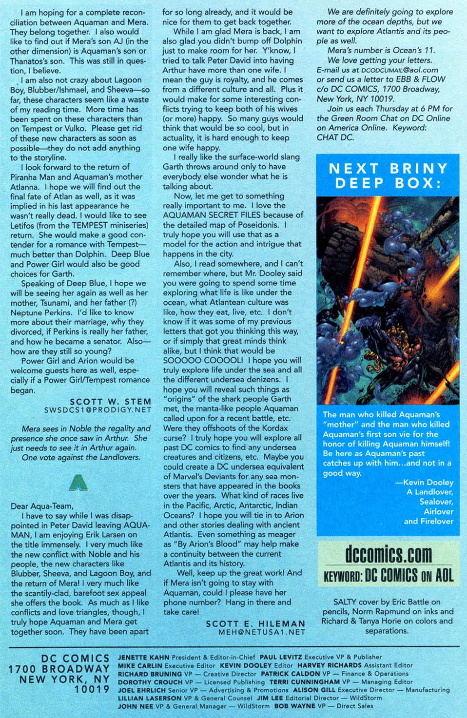 Read online Aquaman (1994) comic -  Issue #57 - 25