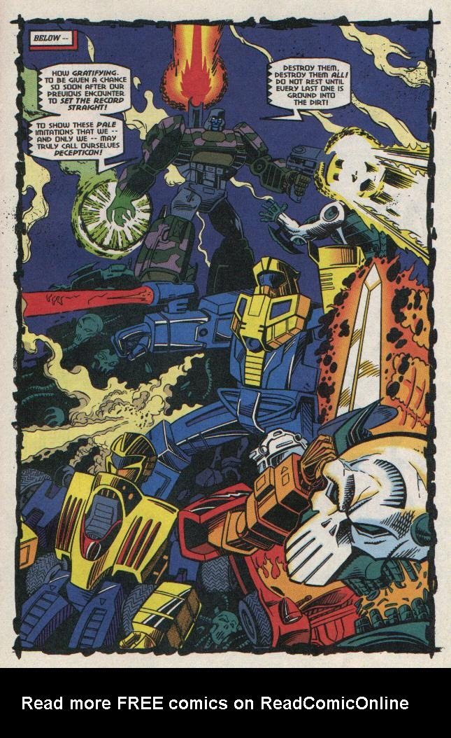 Read online Transformers: Generation 2 comic -  Issue #8 - 20