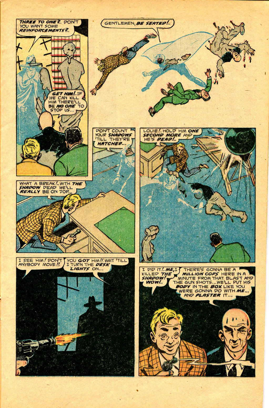 Read online Shadow Comics comic -  Issue #97 - 9