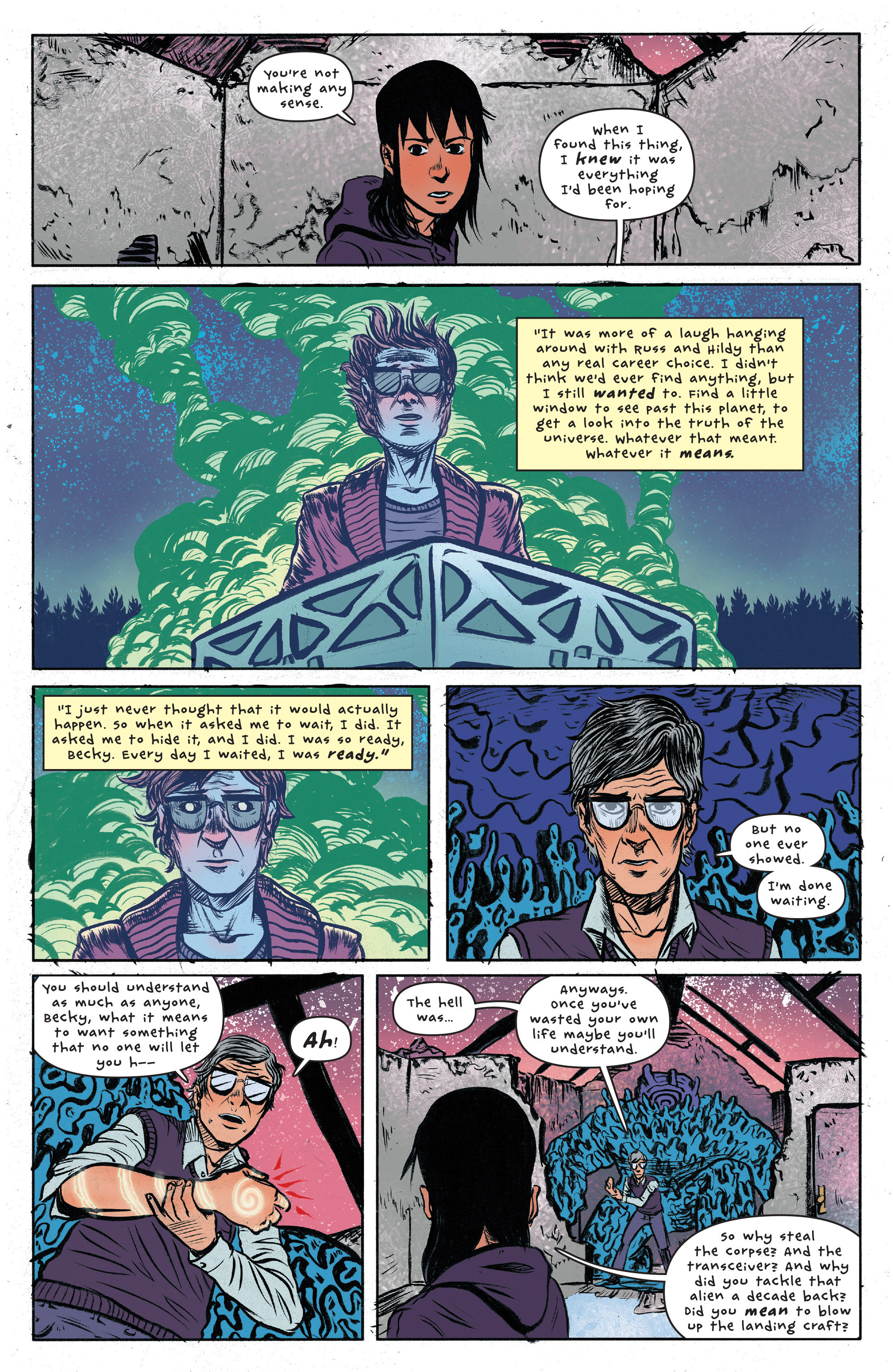 Read online UFOlogy comic -  Issue #6 - 4