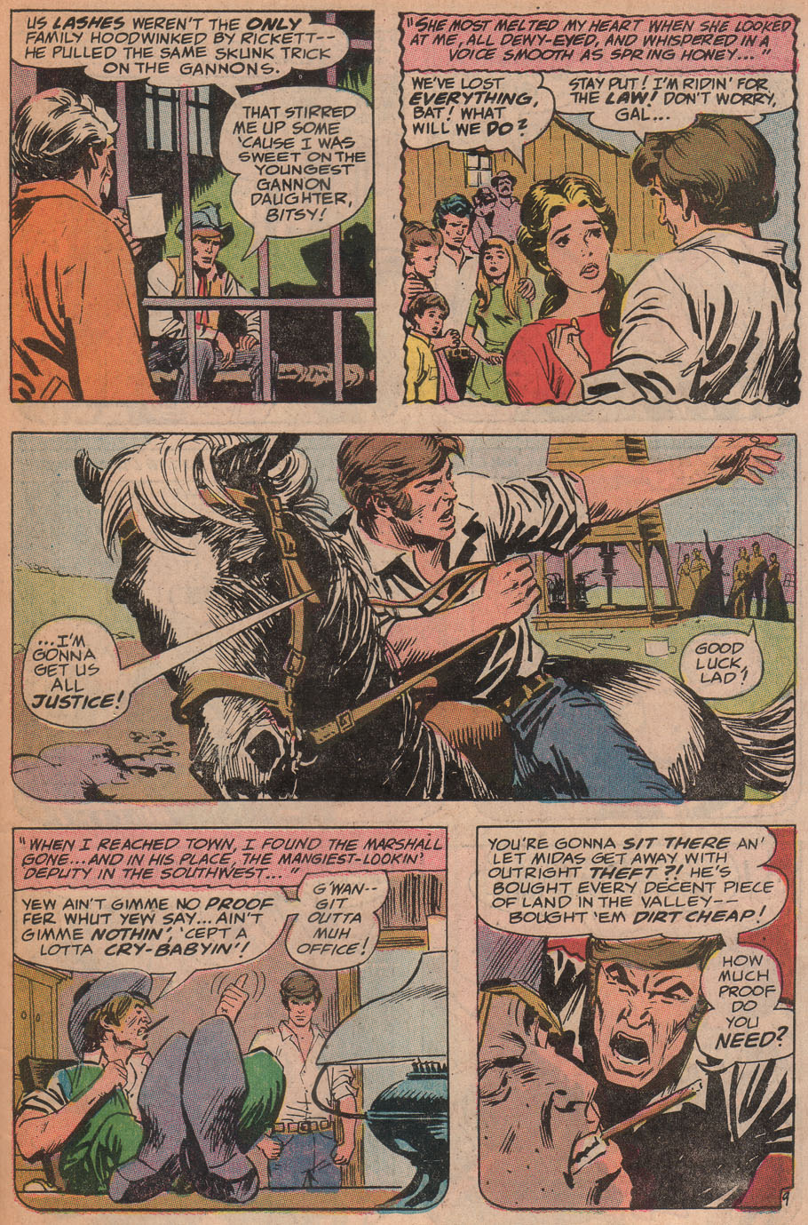 Read online All-Star Western (1970) comic -  Issue #9 - 45