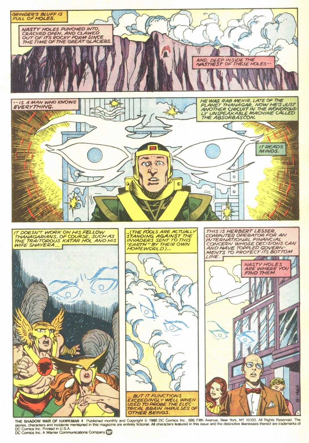The Shadow War of Hawkman 4 Page 2