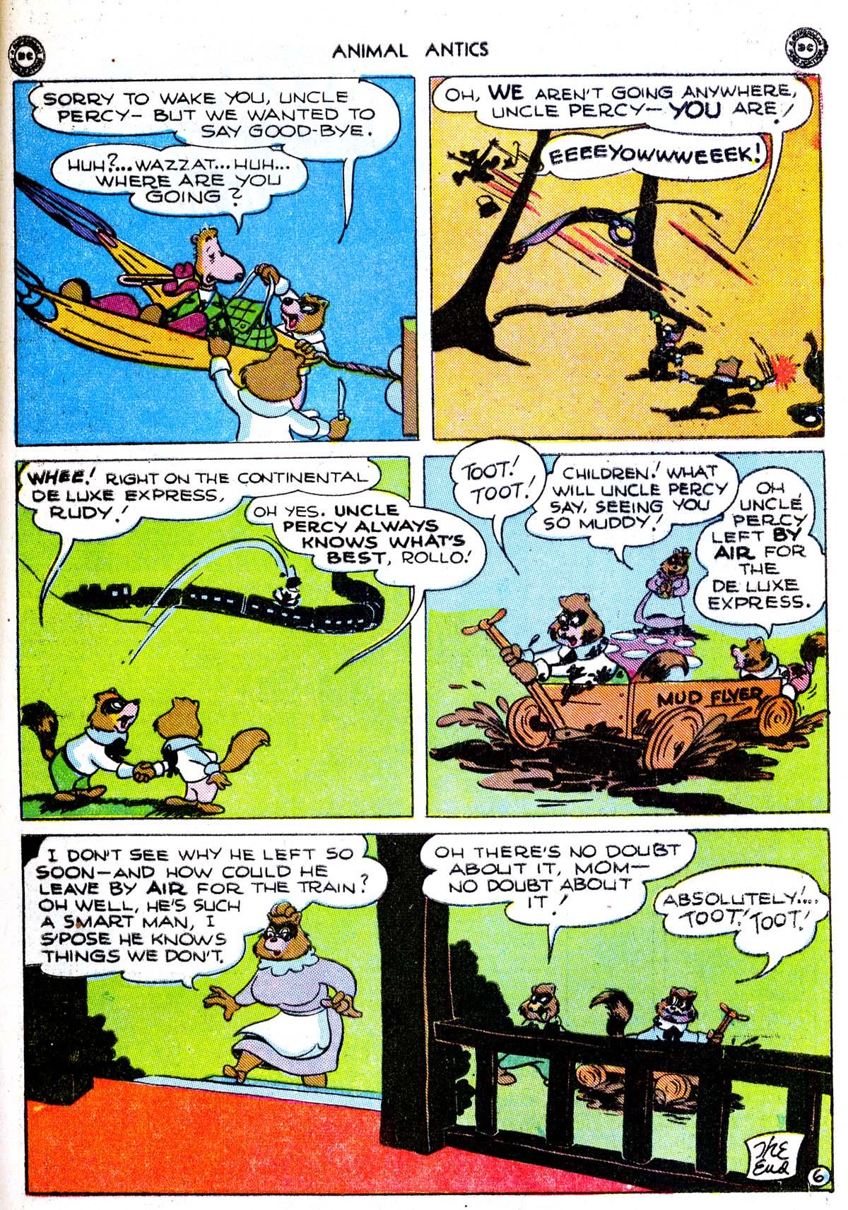 Read online Animal Antics comic -  Issue #1 - 49