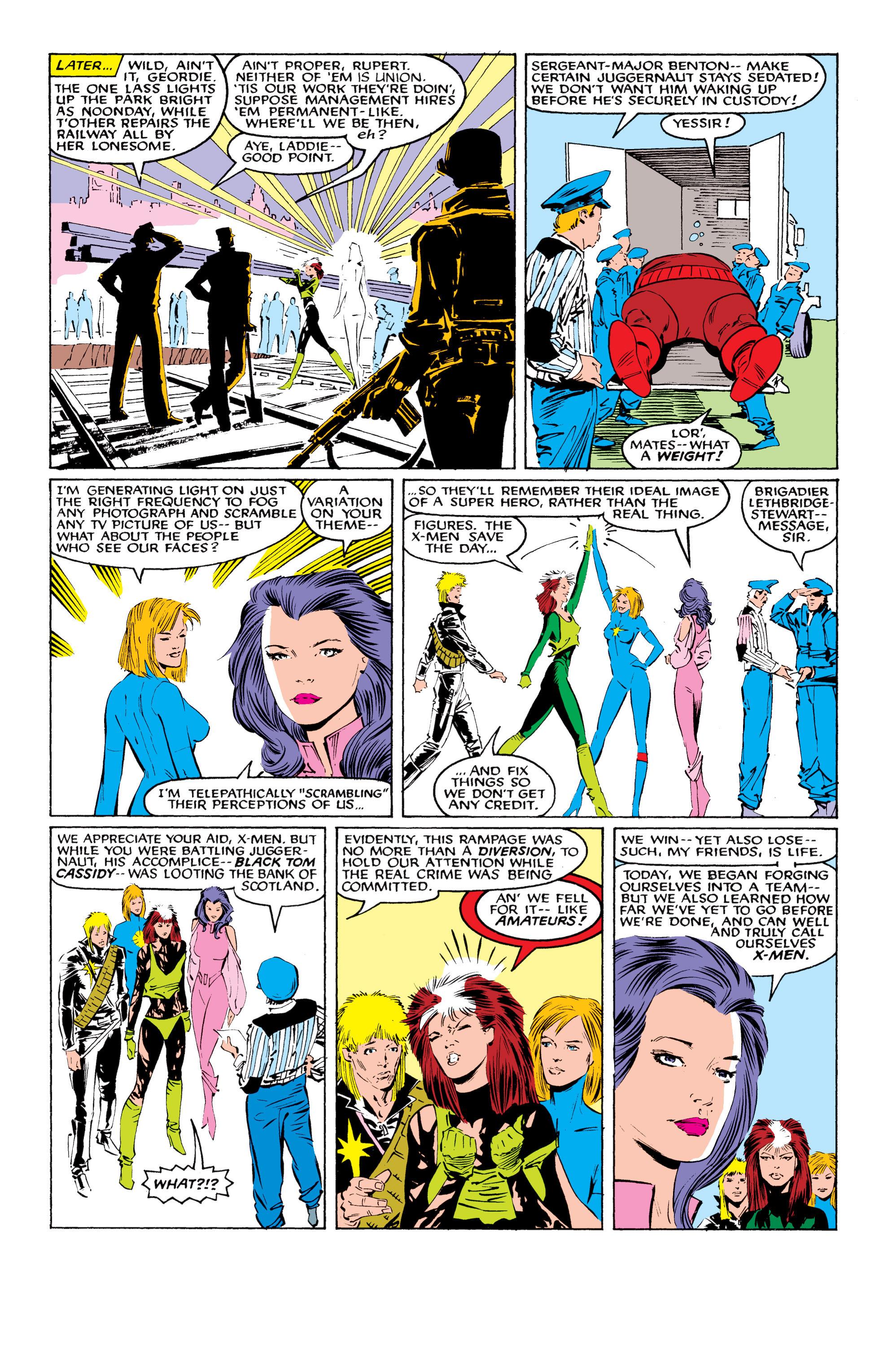 Read online Uncanny X-Men (1963) comic -  Issue #218 - 23