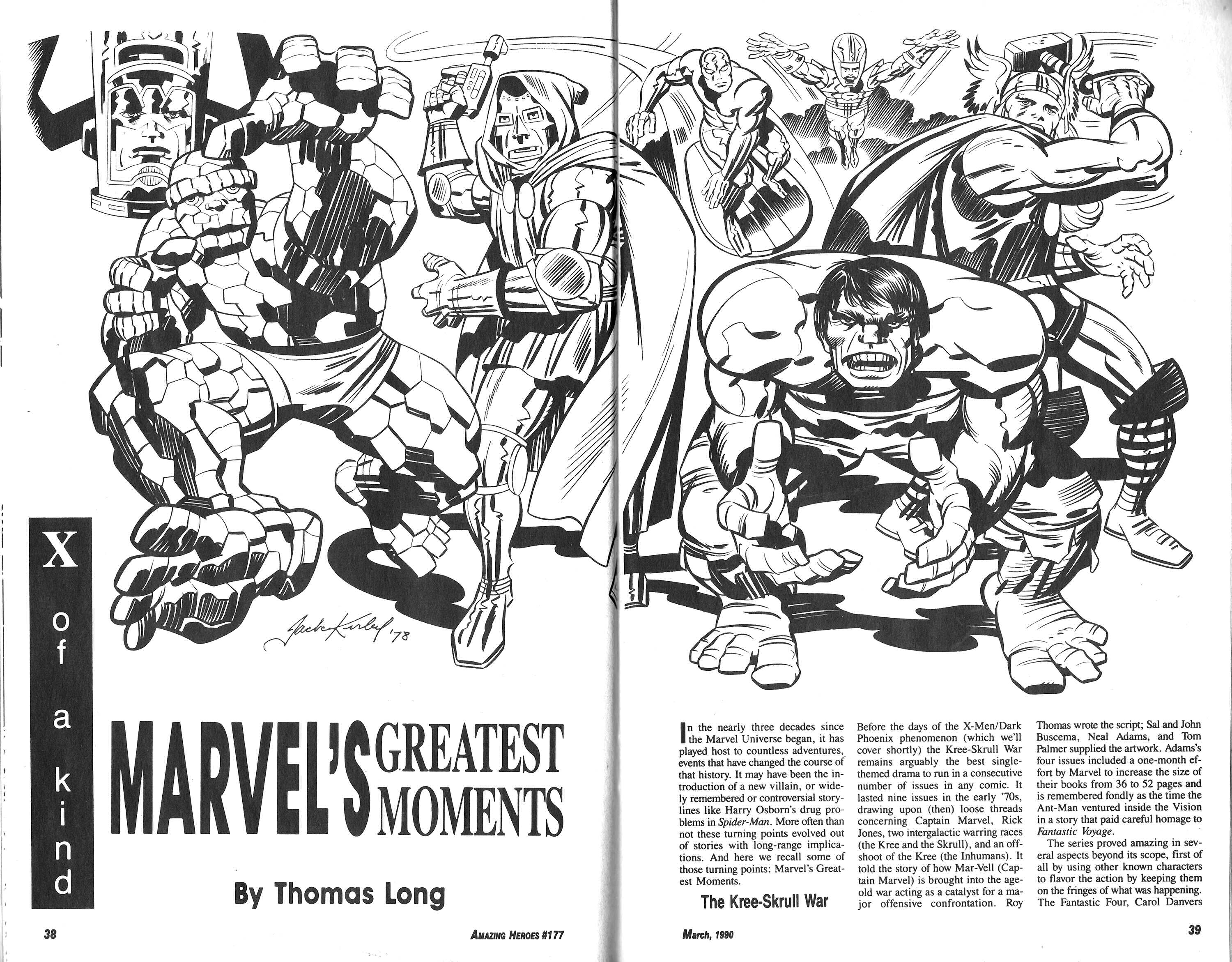 Read online Amazing Heroes comic -  Issue #177 - 20
