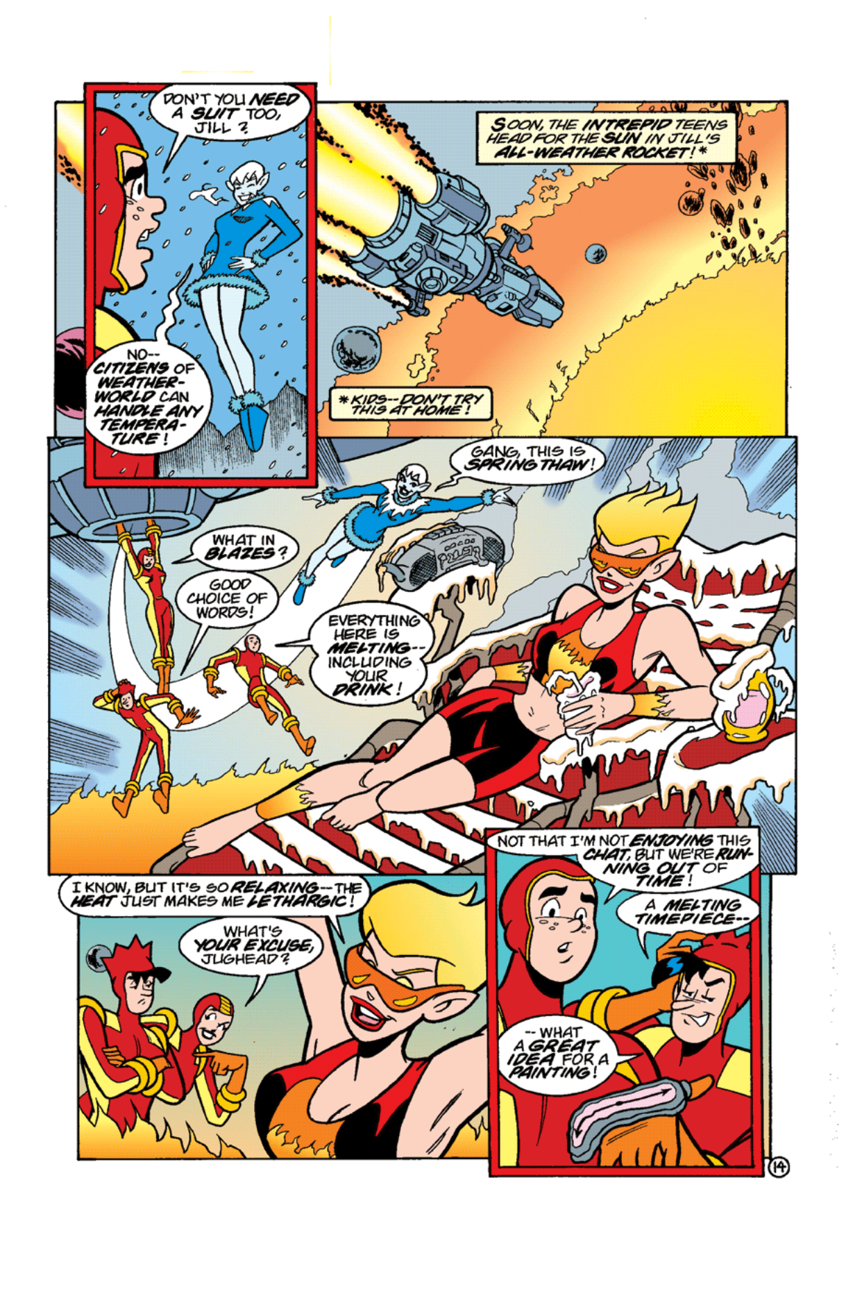 Read online Archie's Weird Mysteries comic -  Issue #11 - 16