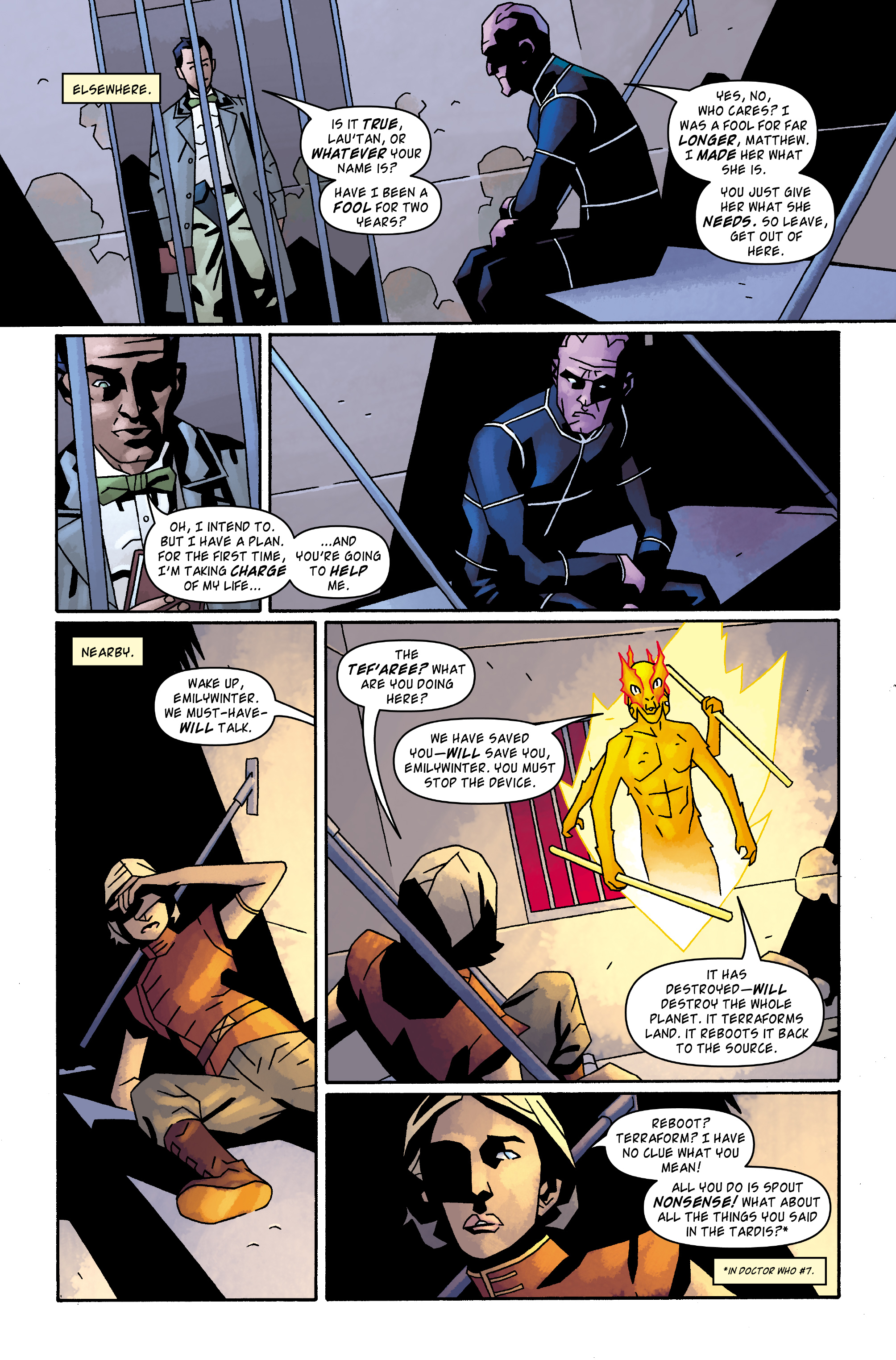 Read online Doctor Who: The Tenth Doctor Archives comic -  Issue #32 - 8