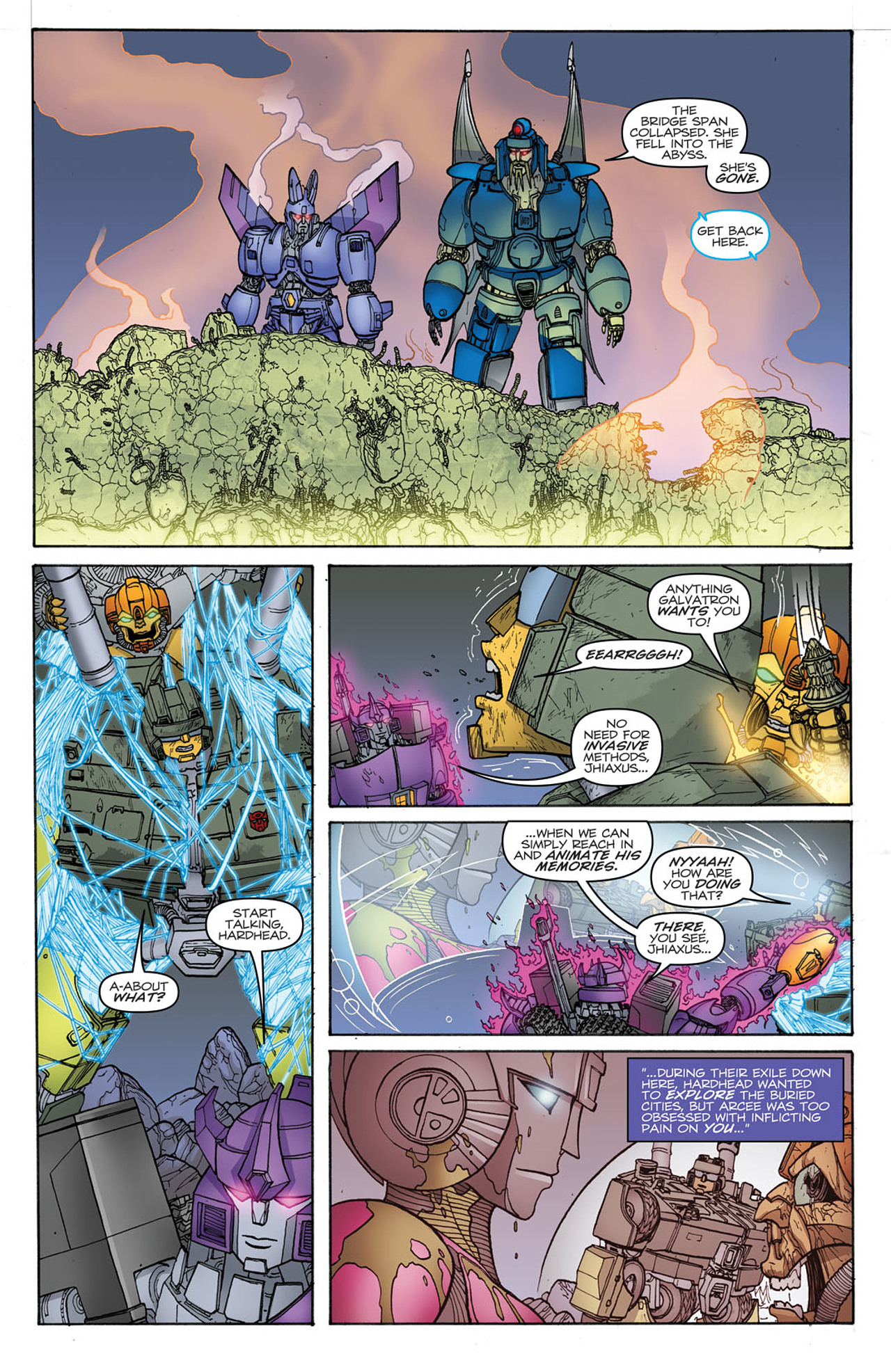 Read online Transformers: Heart of Darkness comic -  Issue #2 - 13