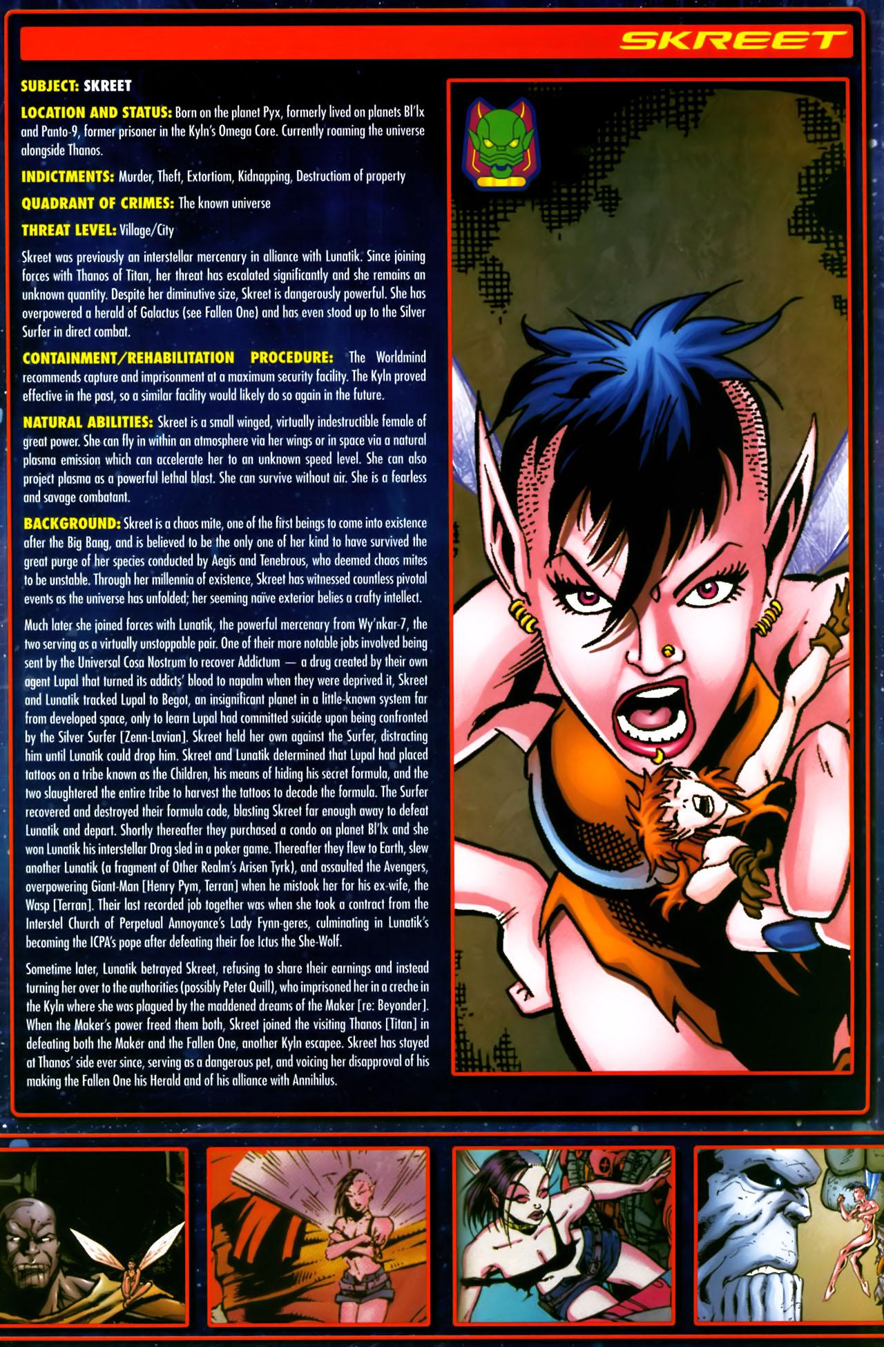 Read online Annihilation:  The  Nova Corps Files comic -  Issue #Annihilation:  The  Nova Corps Files Full - 36