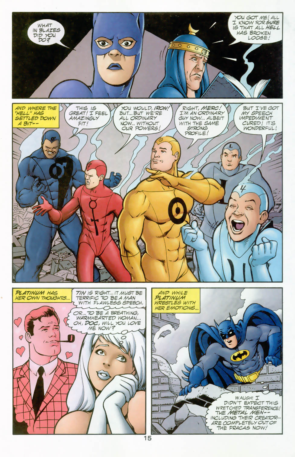 Read online Silver Age: The Brave and the Bold comic -  Issue # Full - 16