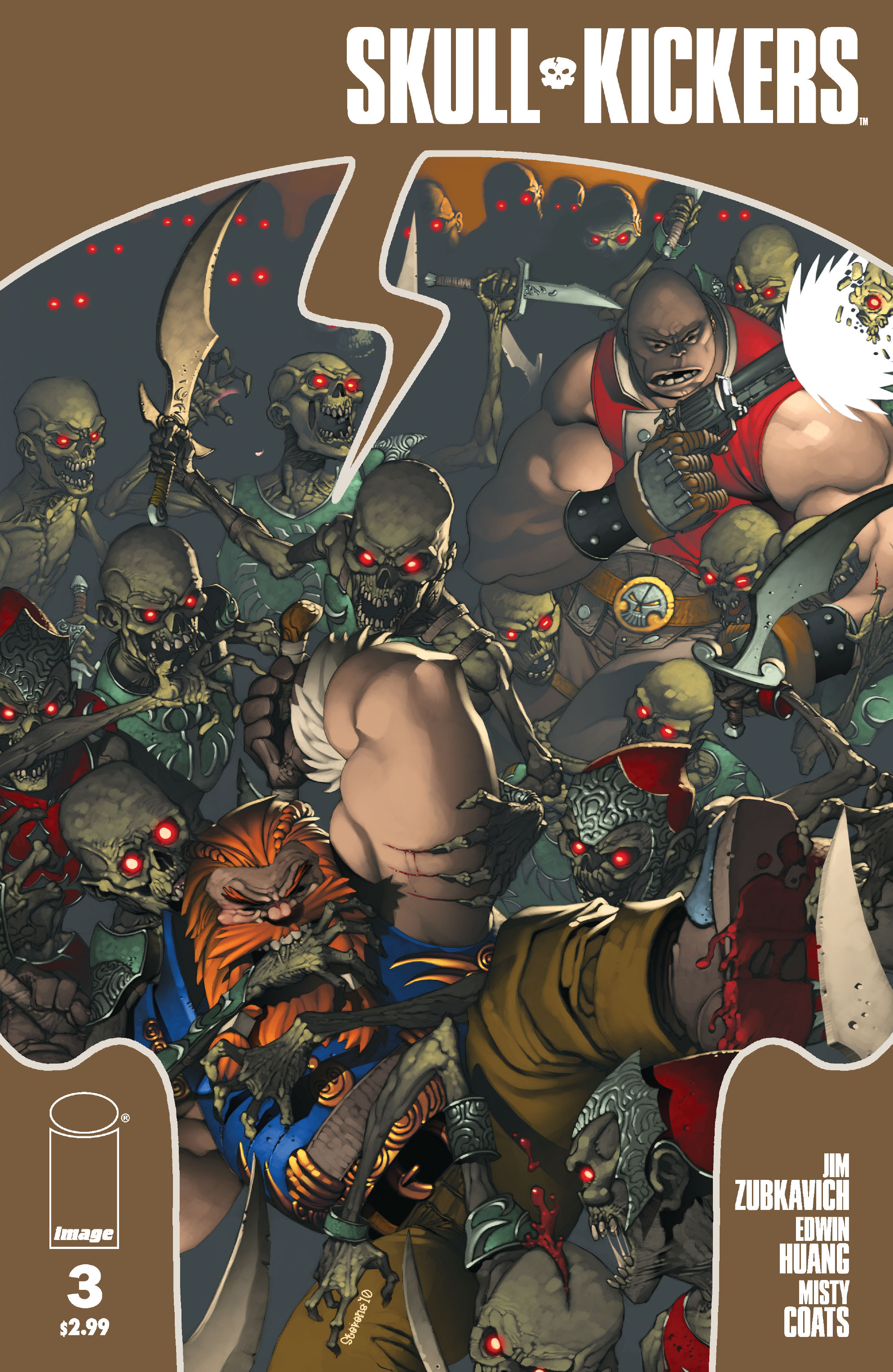 Read online Skullkickers comic -  Issue #3 - 1