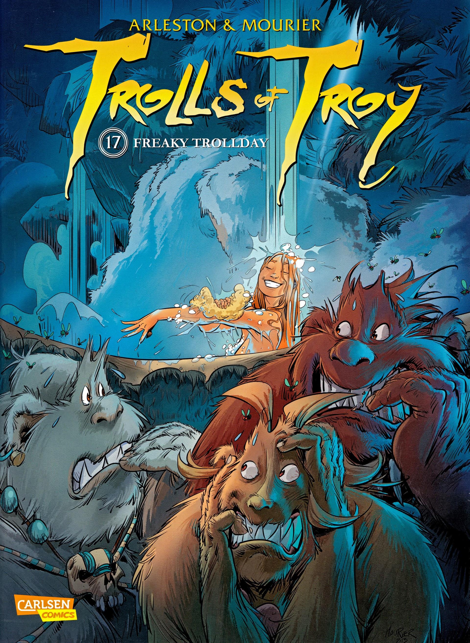 Trolls of Troy 17 Page 1
