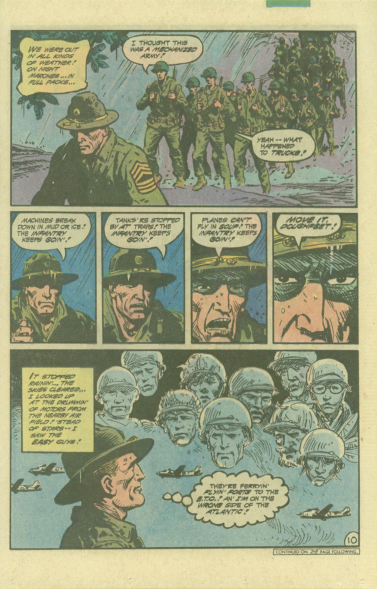 Read online Sgt. Rock comic -  Issue #392 - 10